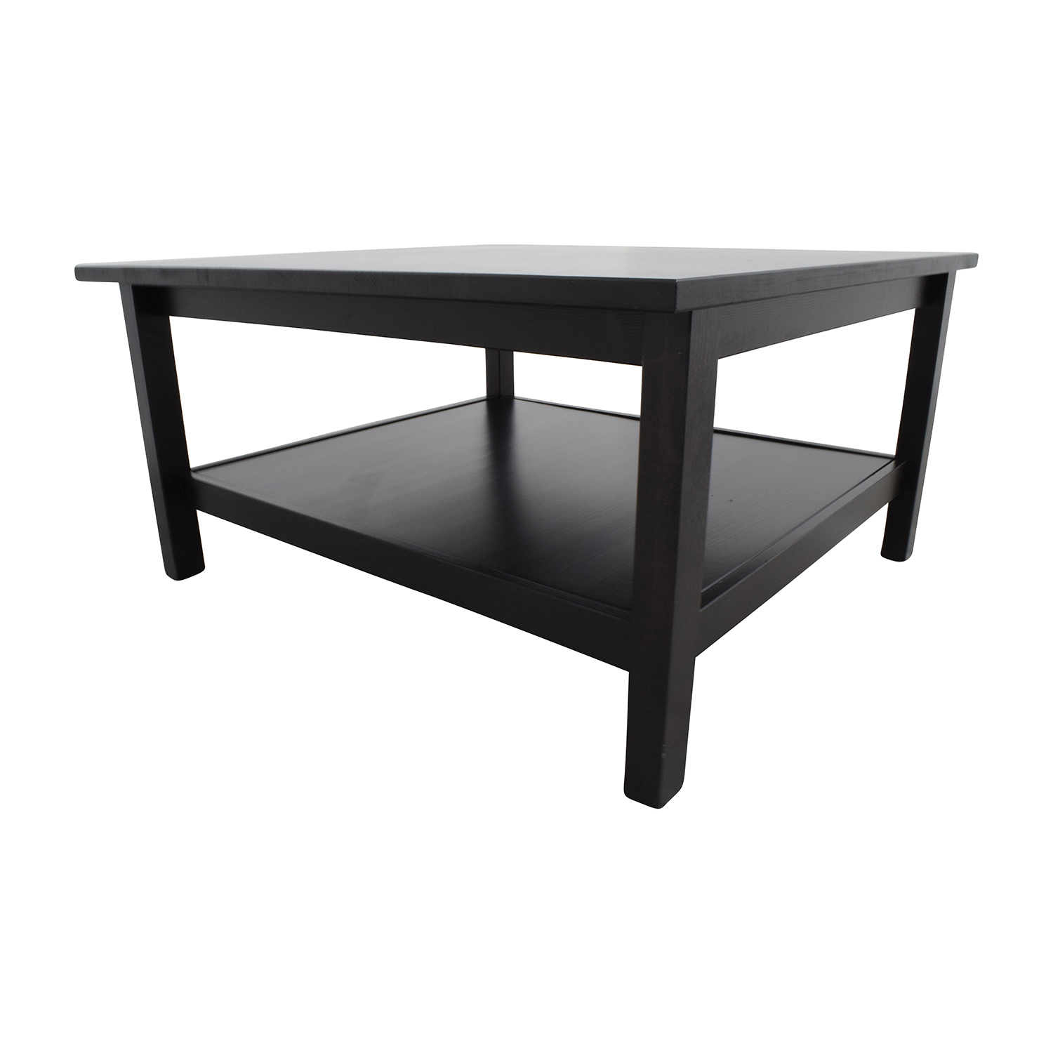 66% OFF IKEA IKEA Brown Square Coffee Table Tables