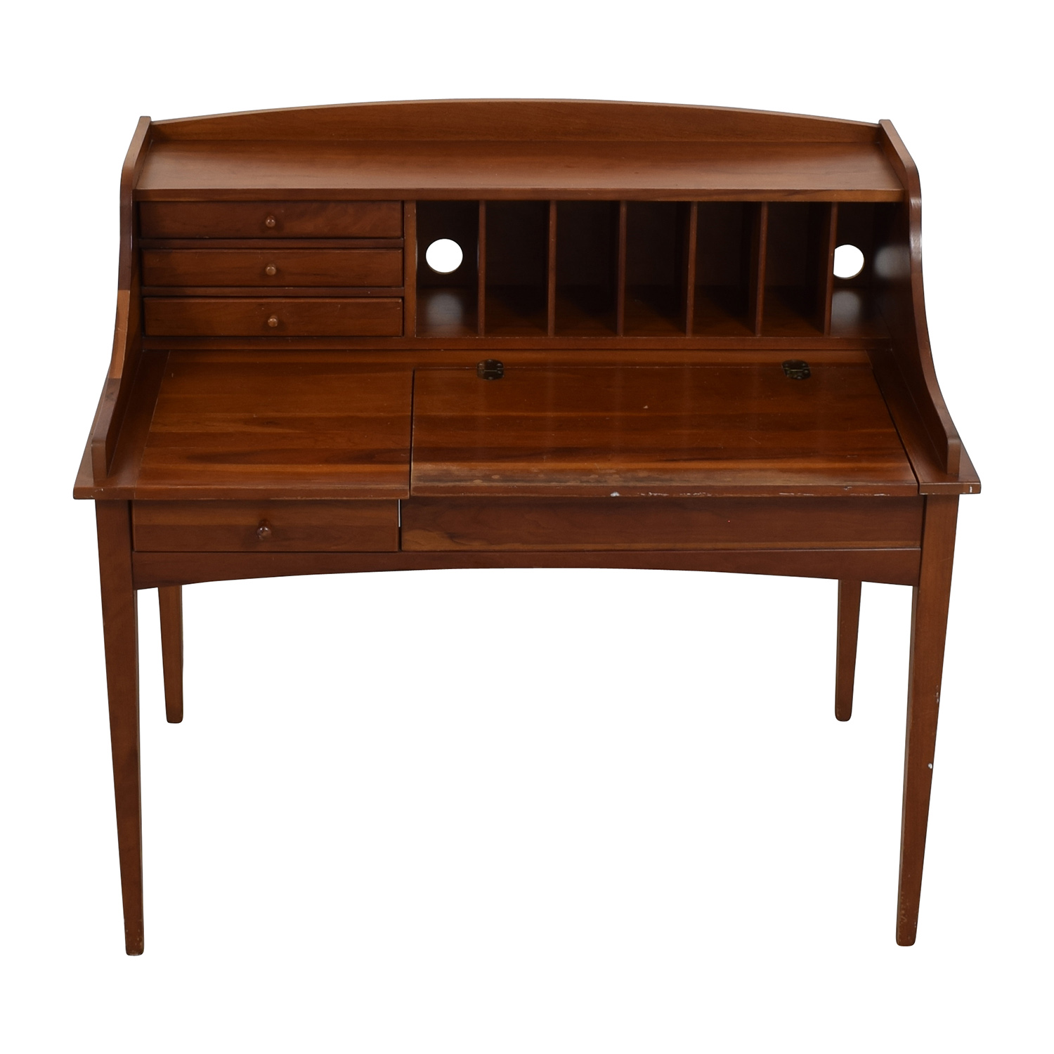 ... Stanley Furniture Stanley Furniture Cambridge Antique Secretary Desk  discount ... - 74% OFF - Stanley Furniture Stanley Furniture Cambridge Antique