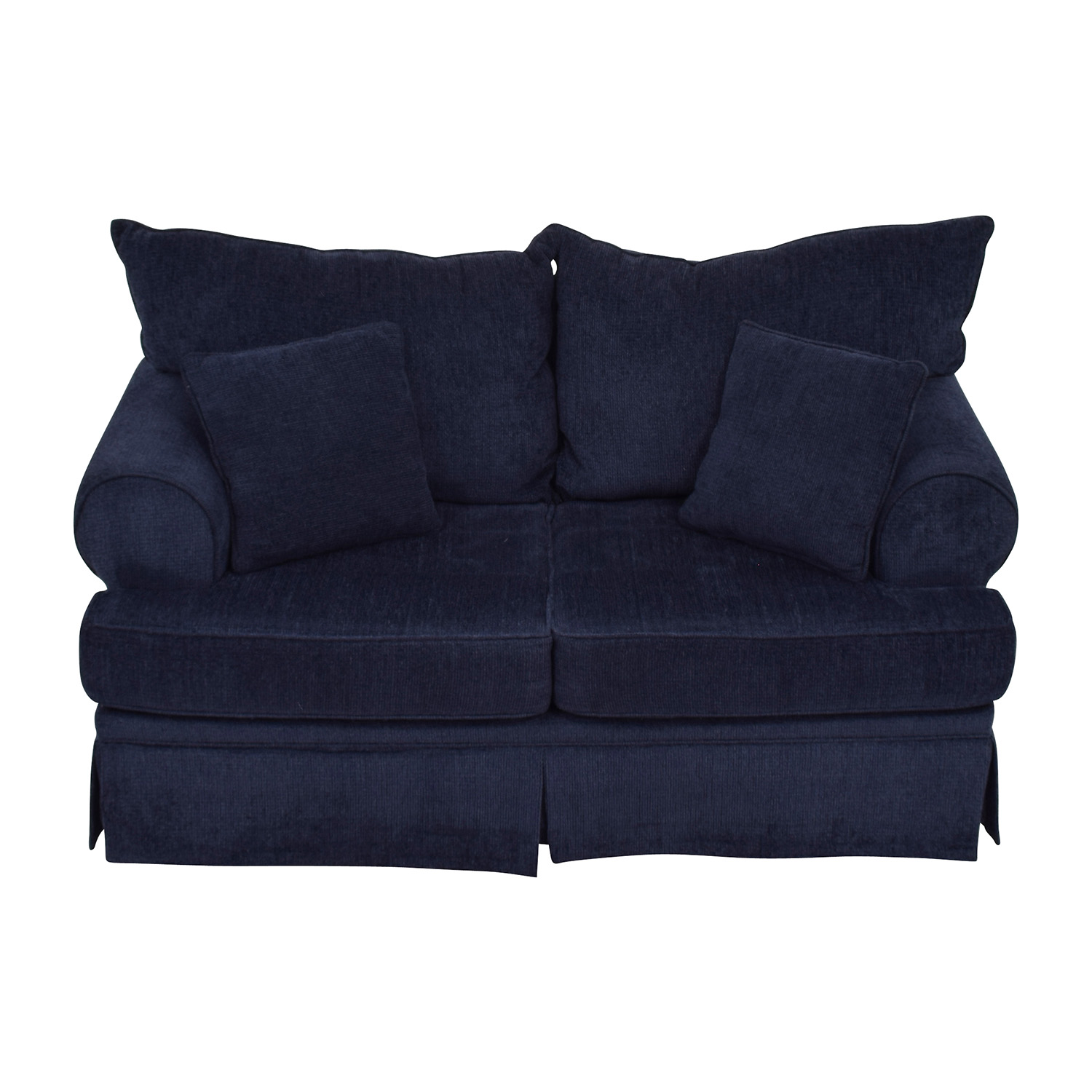 Bobs Furniture Bobs Furniture Deep Blue Loveseat price