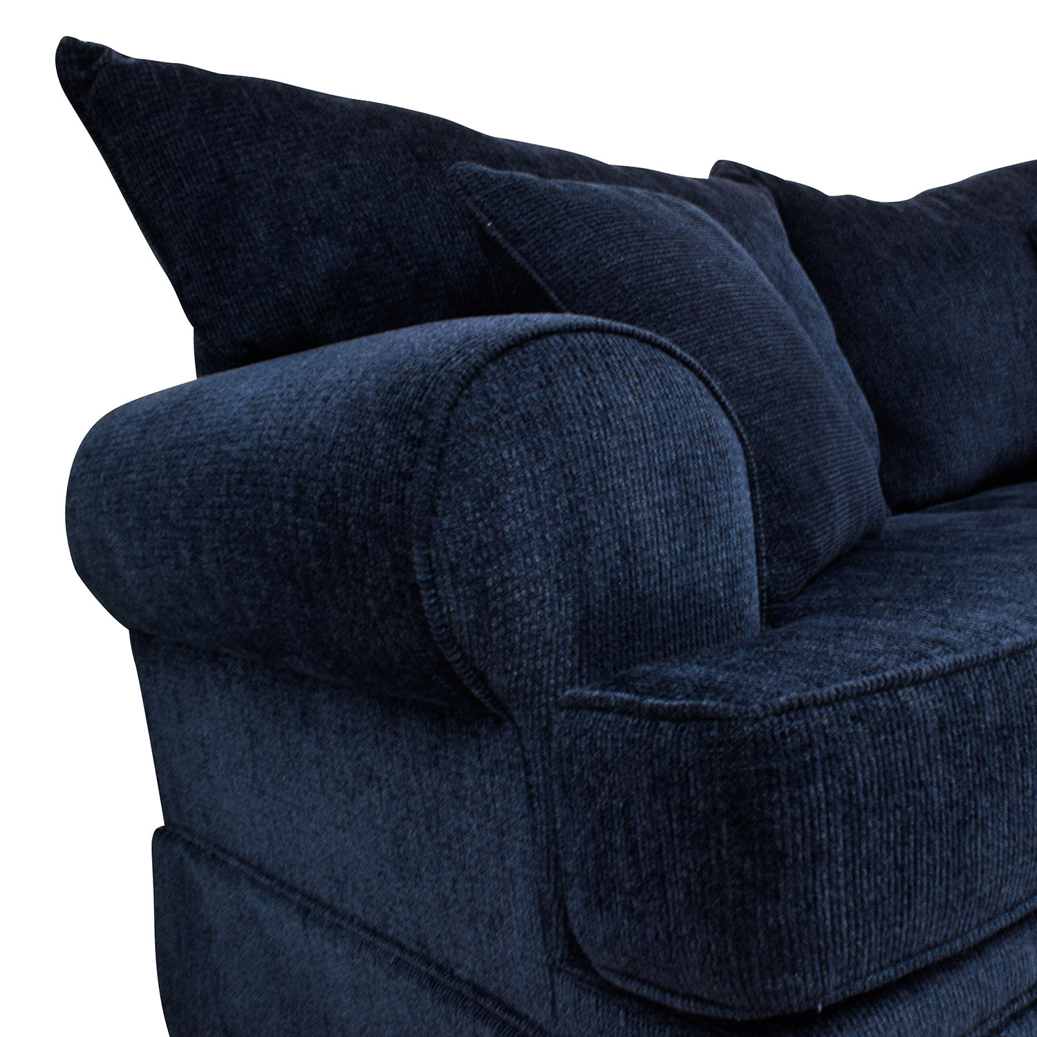 buy Bobs Furniture Bobs Furniture Deep Blue Loveseat online