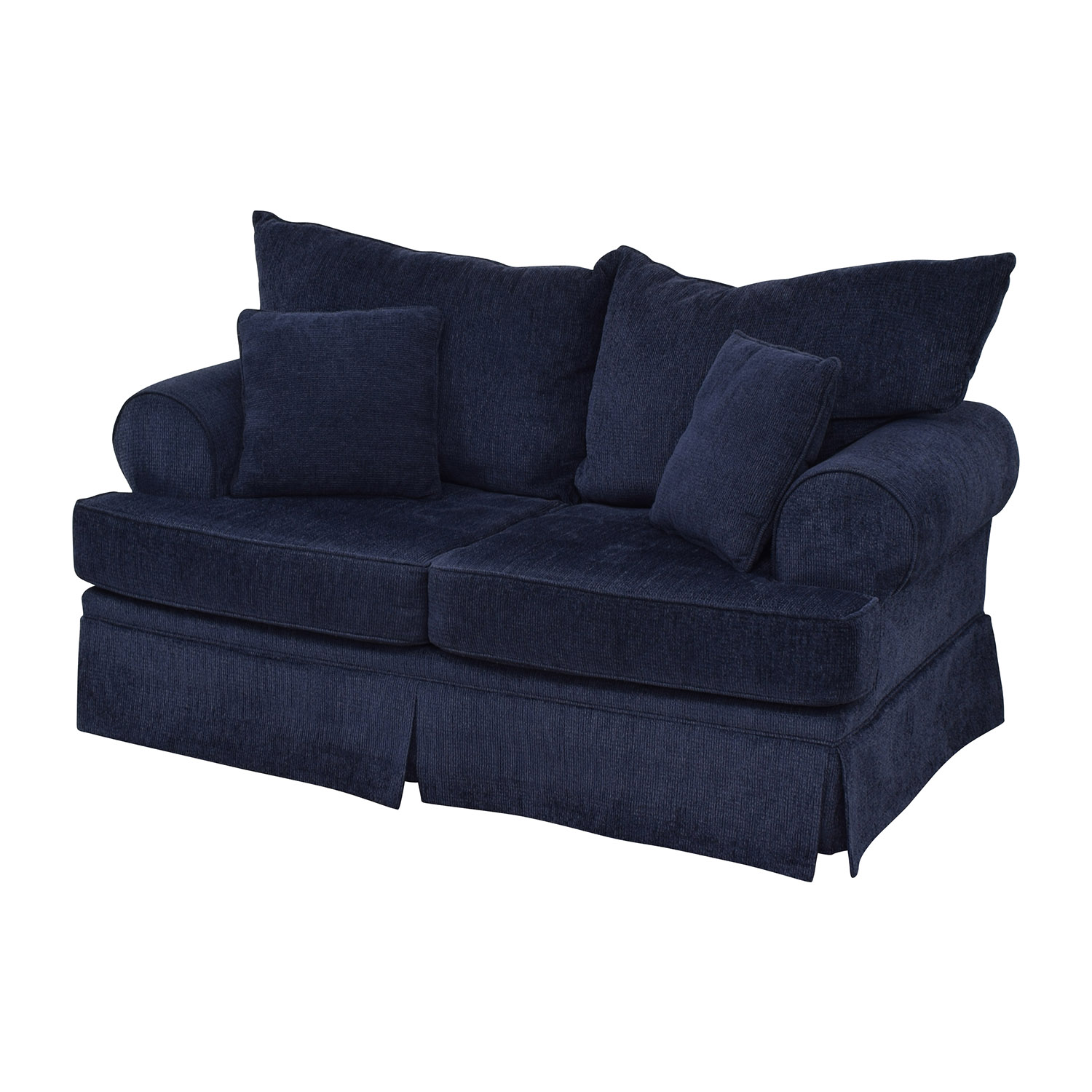buy Bobs Furniture Deep Blue Loveseat Bobs Furniture Sofas