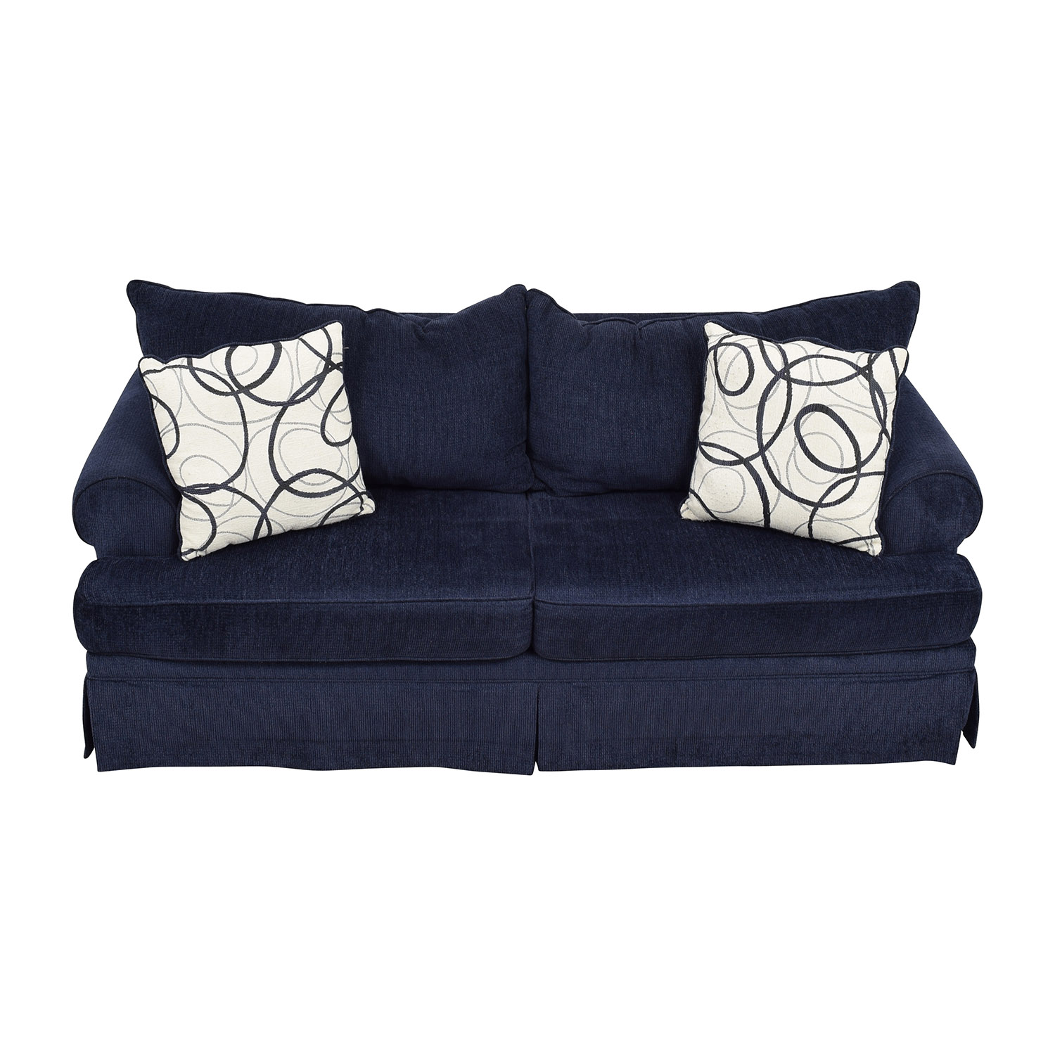 shop Bobs Furniture Bobs Furniture Deep Blue Sofa online