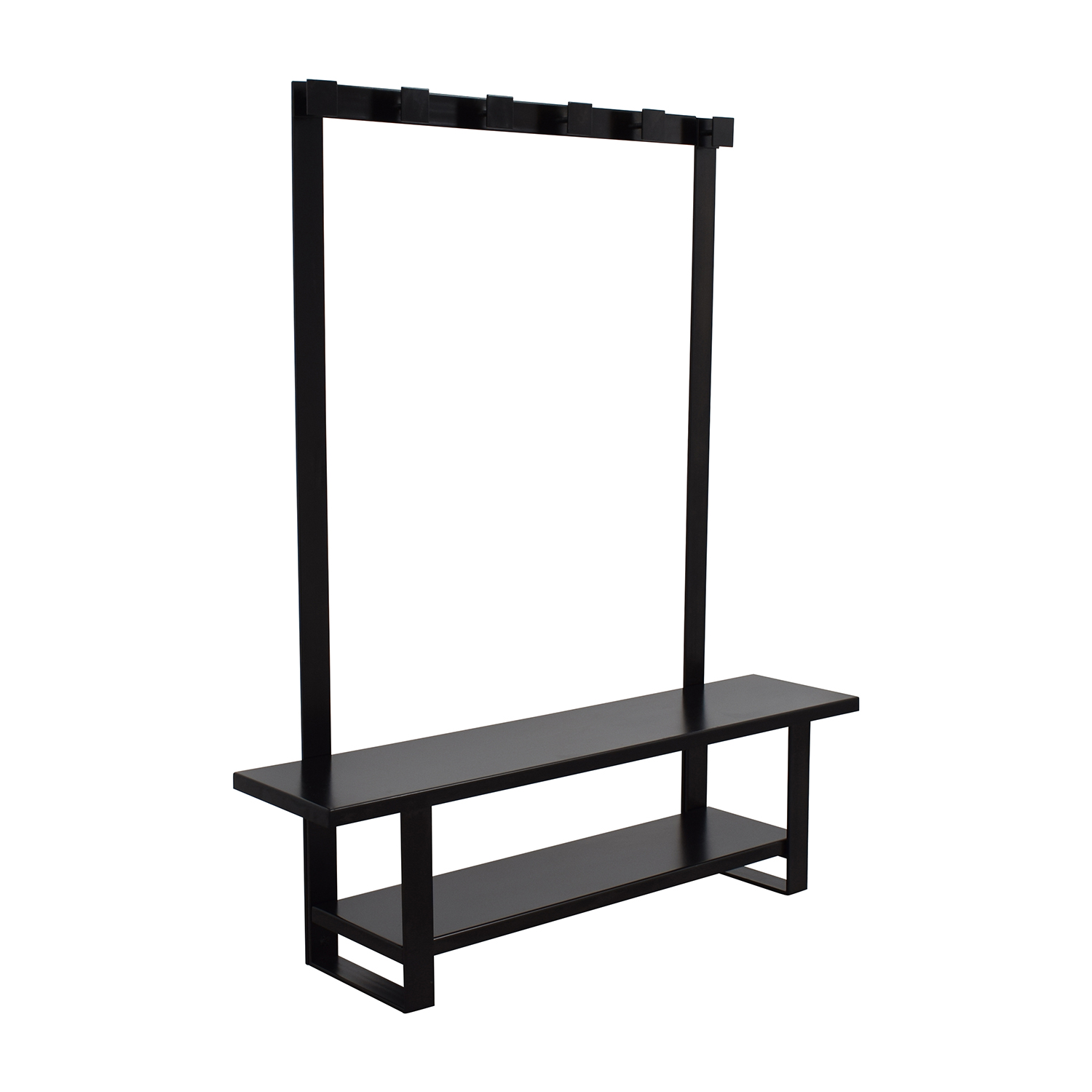 Crate and Barrel Crate & Barrel Entry Bench with Hooks used
