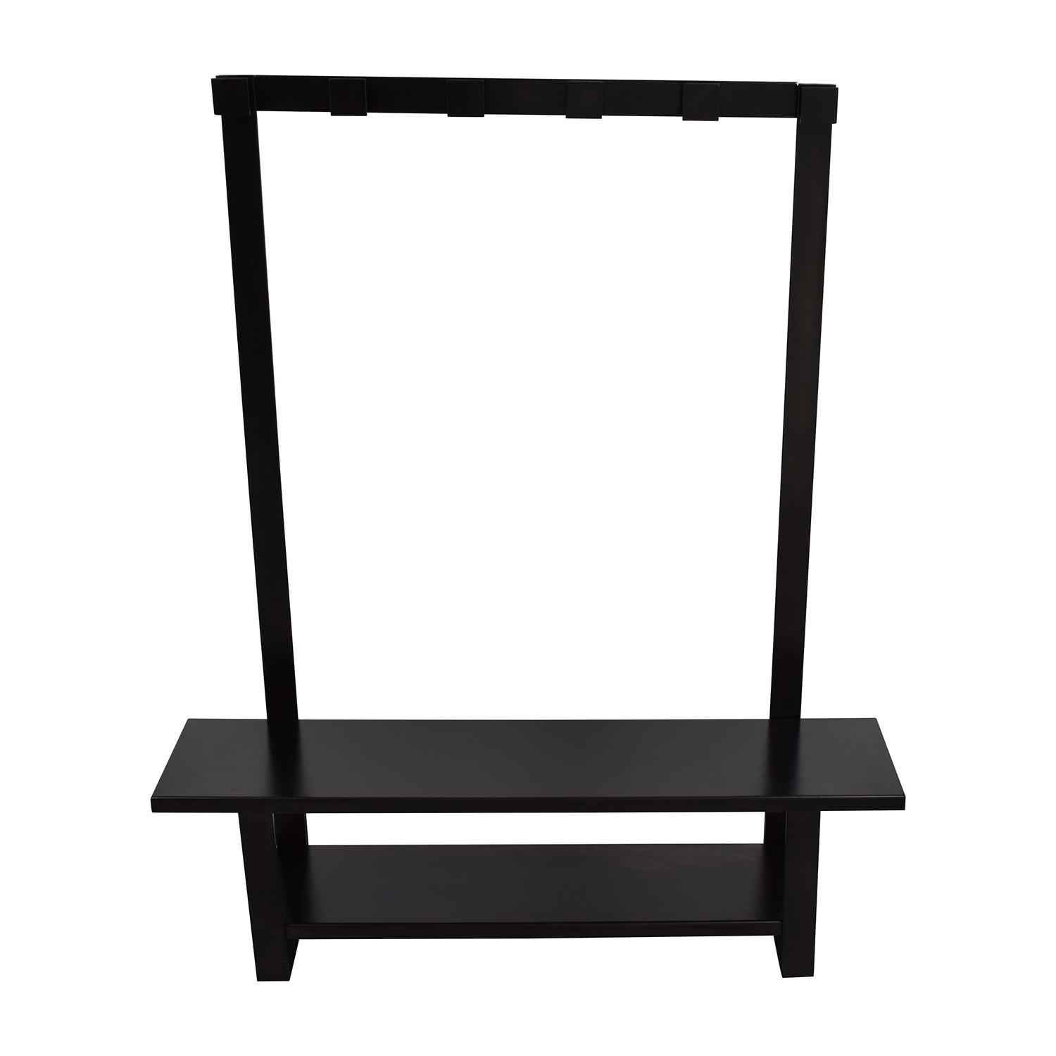Crate and Barrel Crate & Barrel Entry Bench with Hooks dimensions