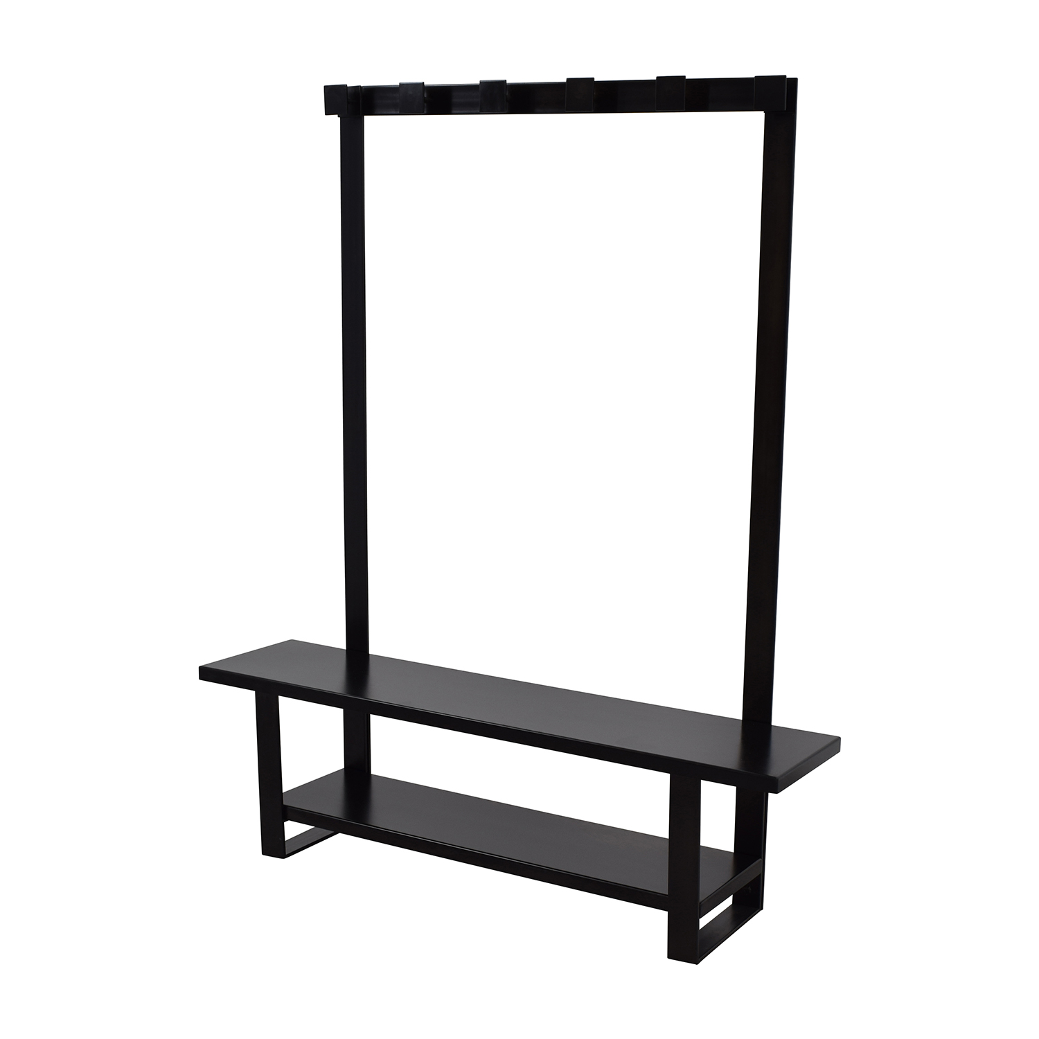 Crate & Barrel Entry Bench with Hooks sale
