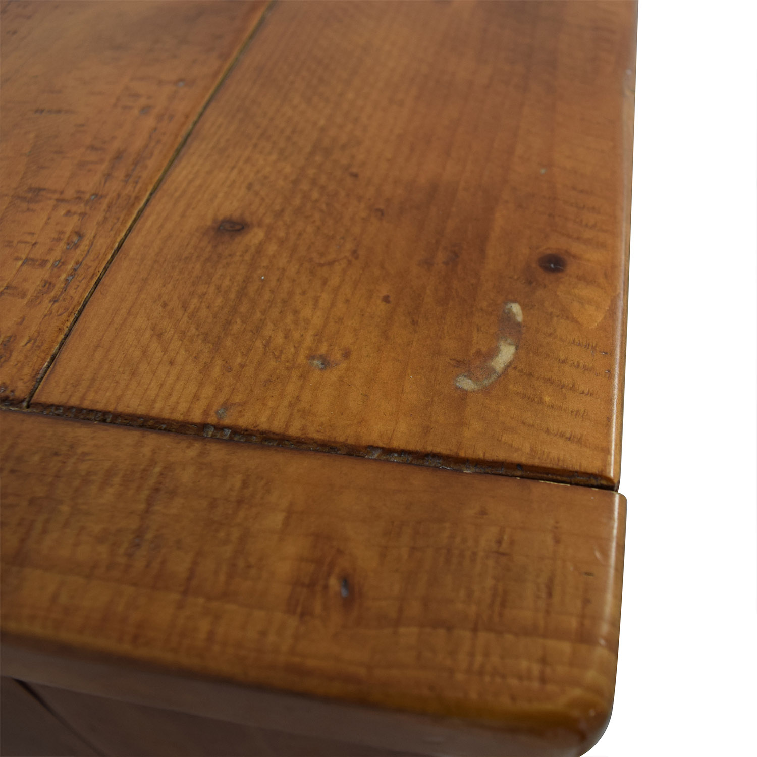 Pottery Barn Wood Single Drawer Side Table / Tables
