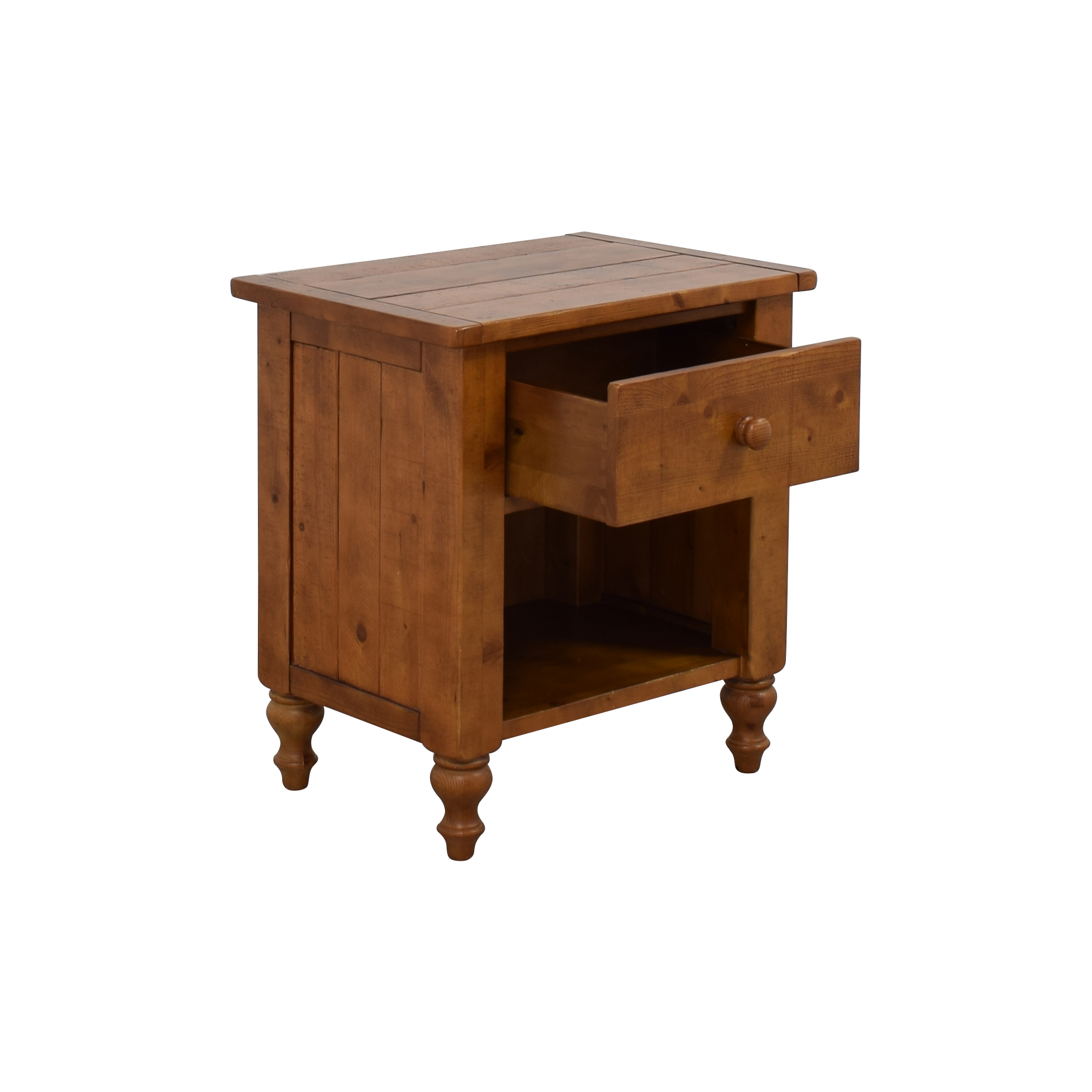 Pottery Barn Pottery Barn Wood Single Drawer Side Table Tables