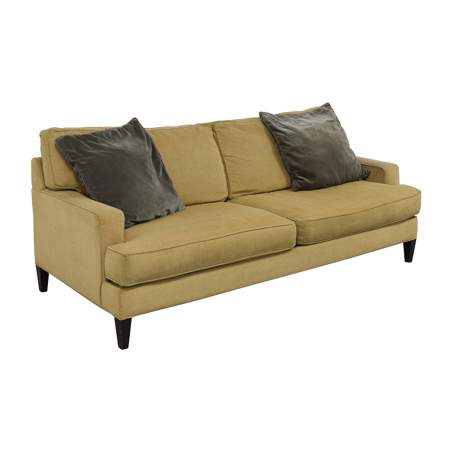 Room and Board Room & Board Beige Two Cushion Sofa Sofas