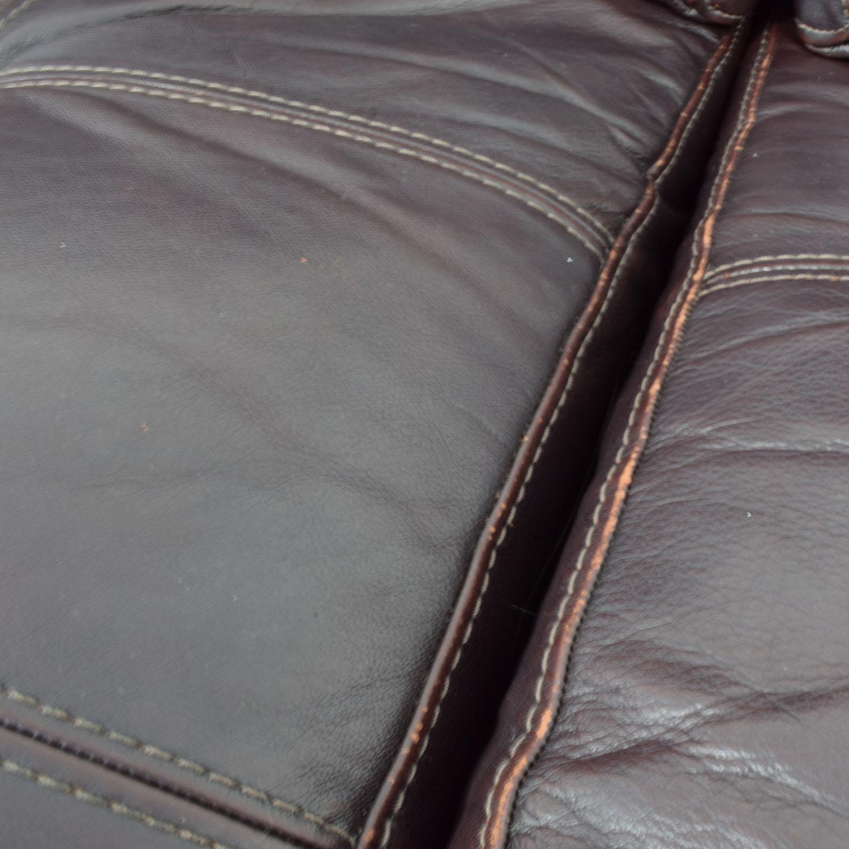 Macys Milan Leather Sofa Macys
