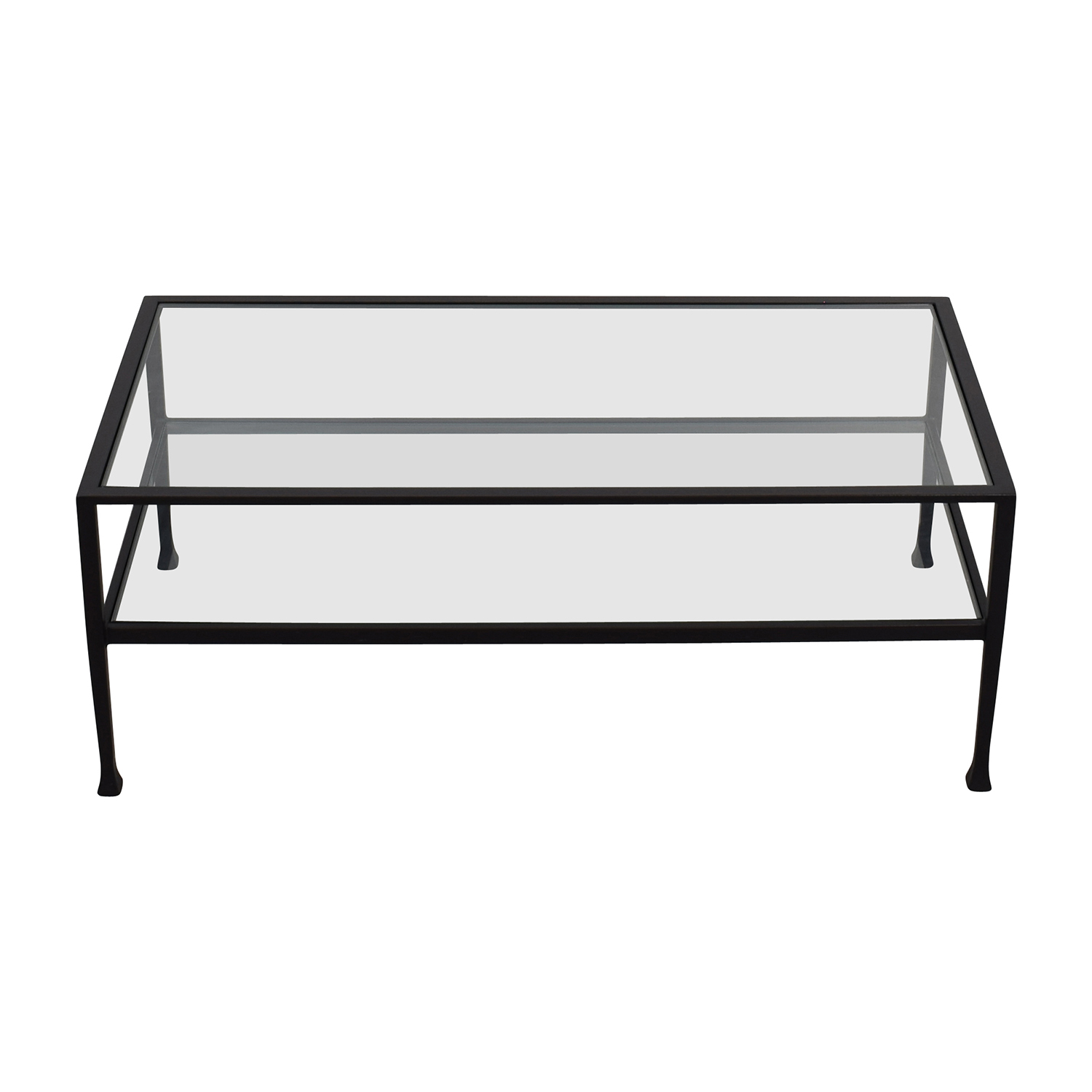 shop Pottery Barn Tanner Rectangular Coffee Table Pottery Parn Tables