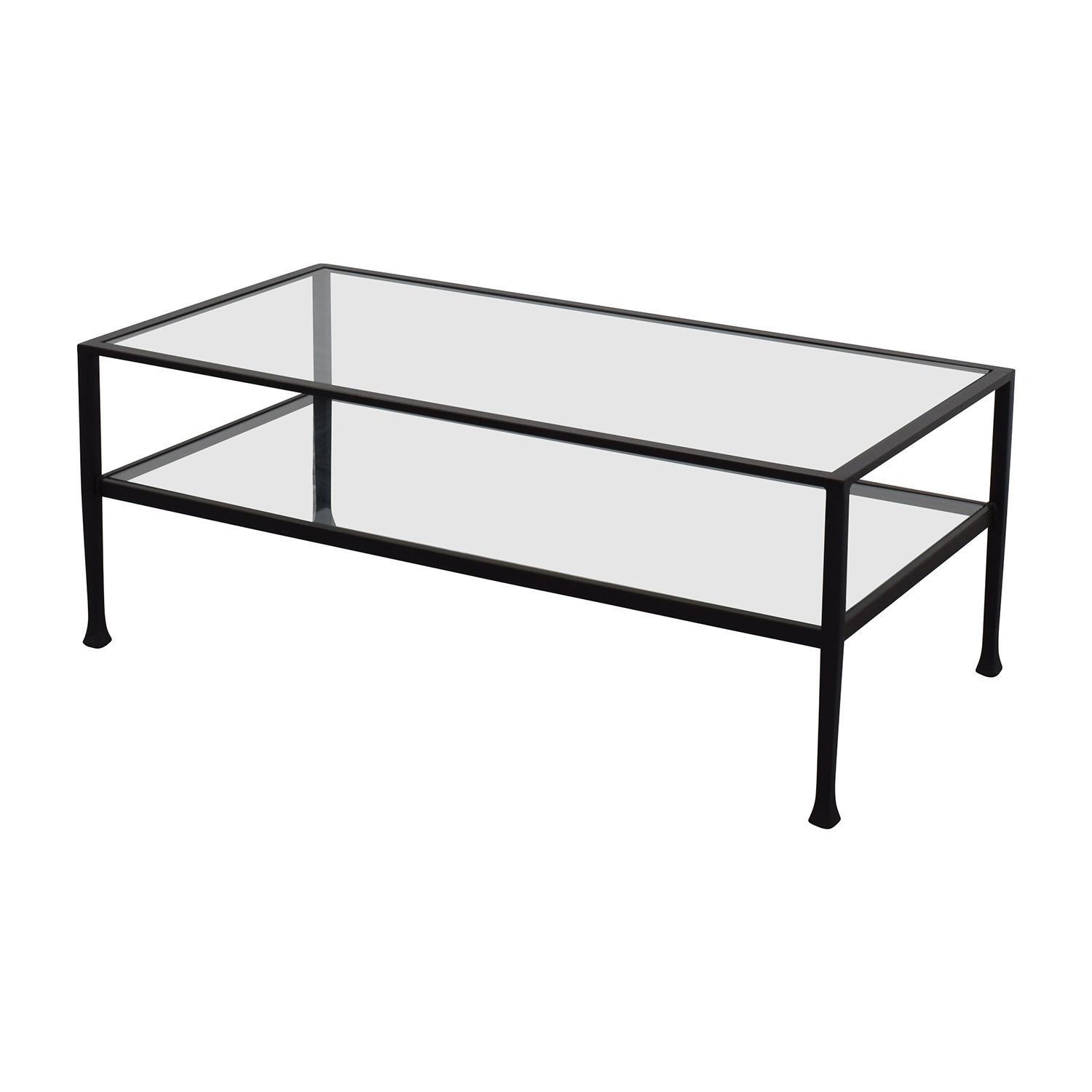 Pottery Parn Pottery Barn Tanner Rectangular Coffee Table nyc