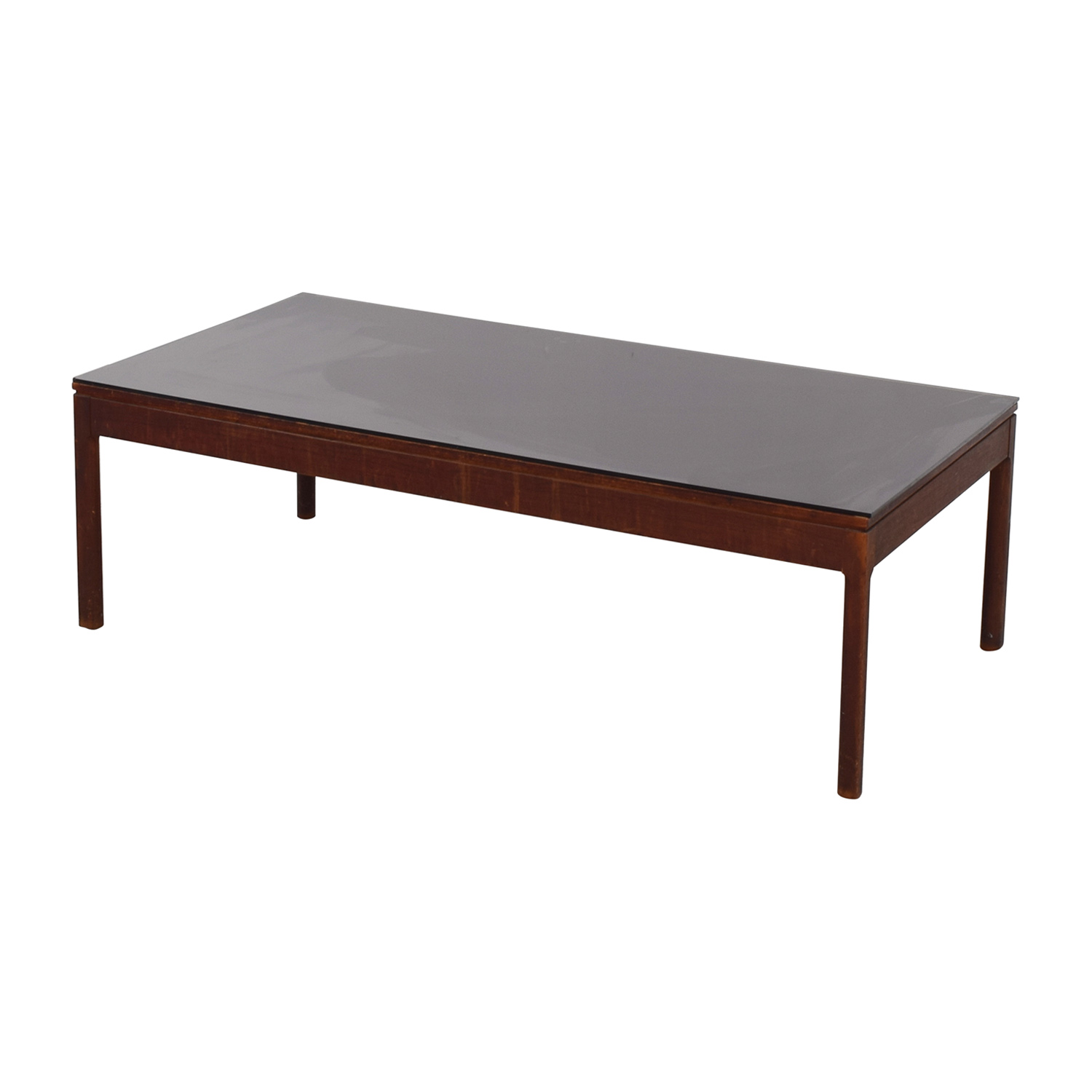 buy Mid Century Black Top Coffee Table Tables