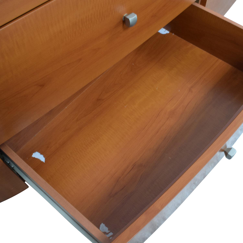 Mid-Century Dresser with Mirror / Dressers
