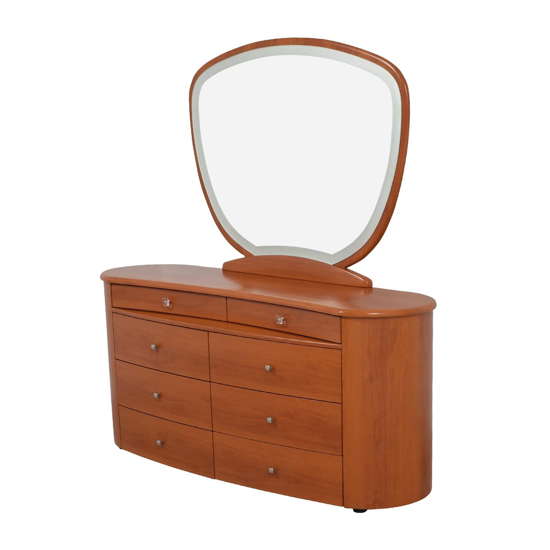Mid-Century Dresser with Mirror price