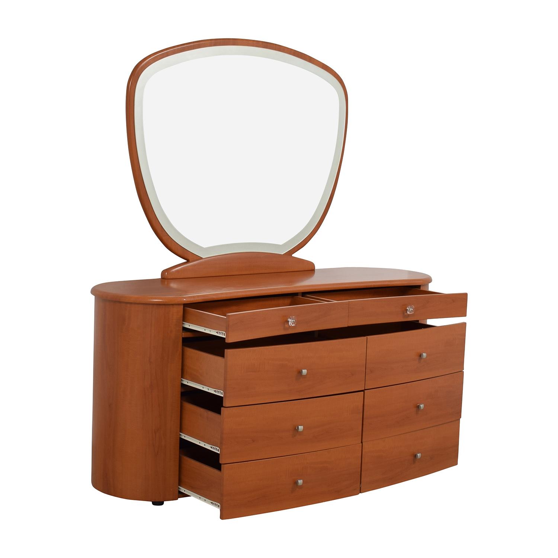 shop Mid-Century Dresser with Mirror online