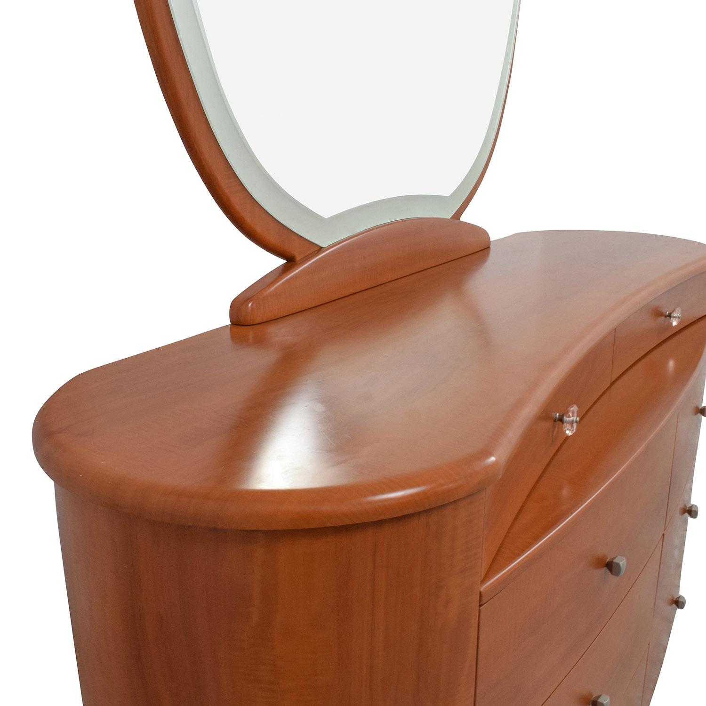 Mid-Century Dresser with Mirror sale