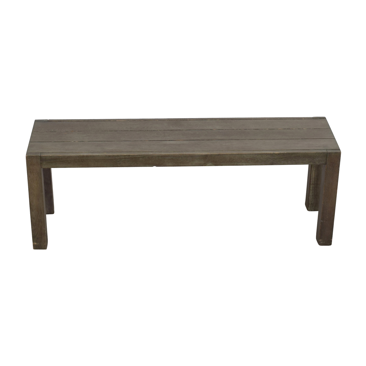 shop CB2 Matera Dining Bench CB2