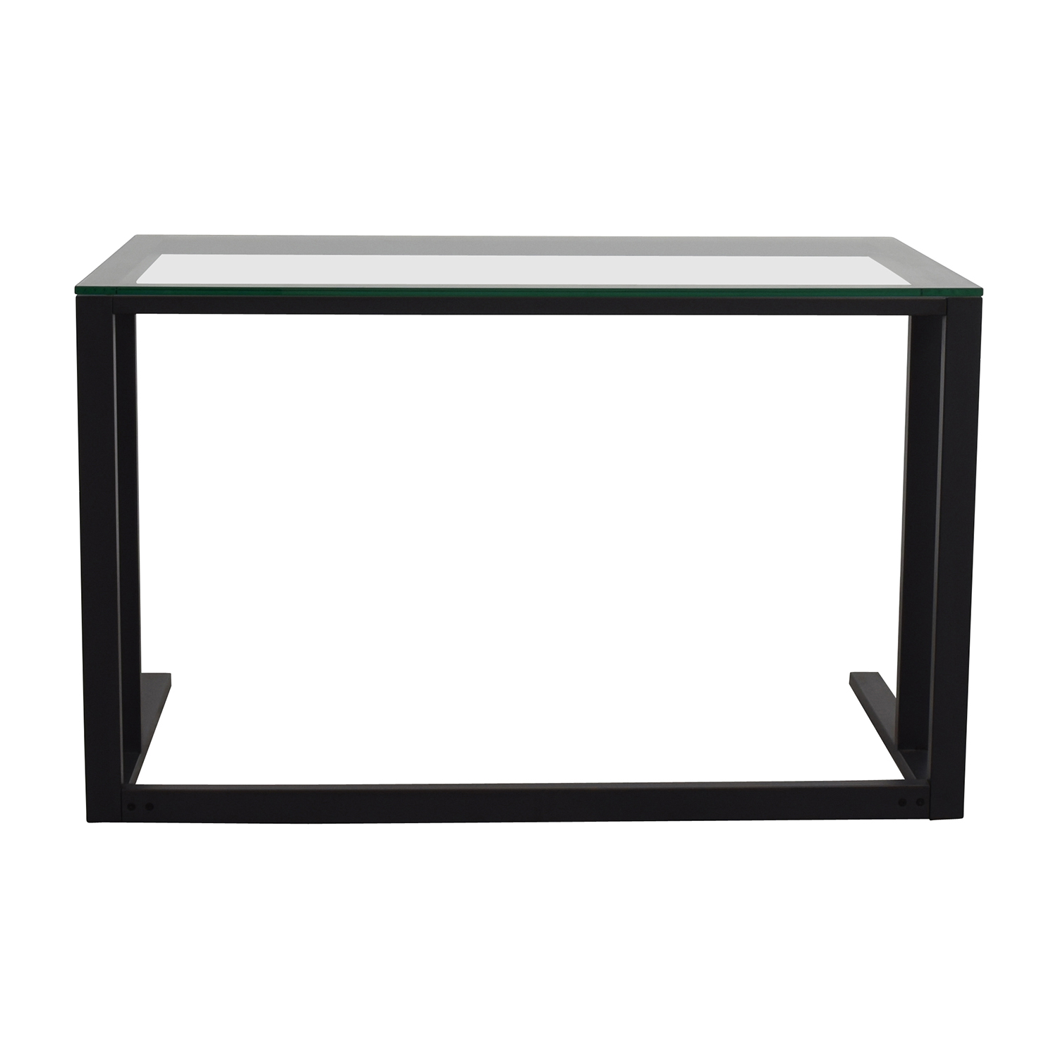 shop Crate and Barrel Crate & Barrel Glass Desk online