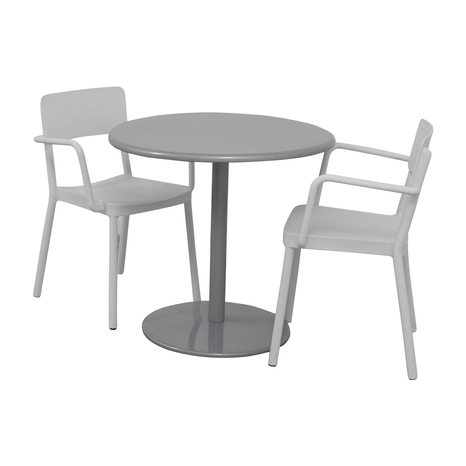 Design Within Reach Bistro Table and Two Chairs sale