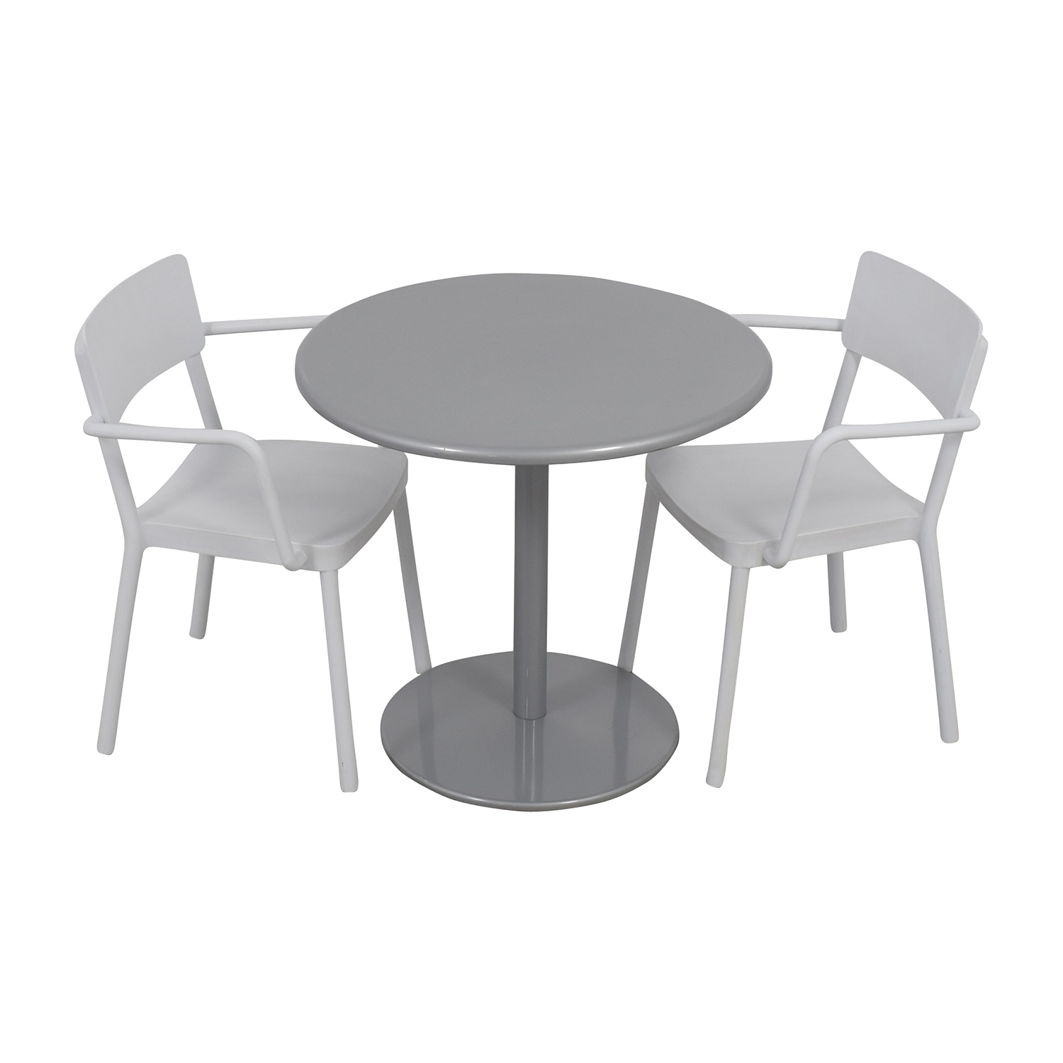 85% OFF - Design Within Reach Design Within Reach Bistro Table and ...
