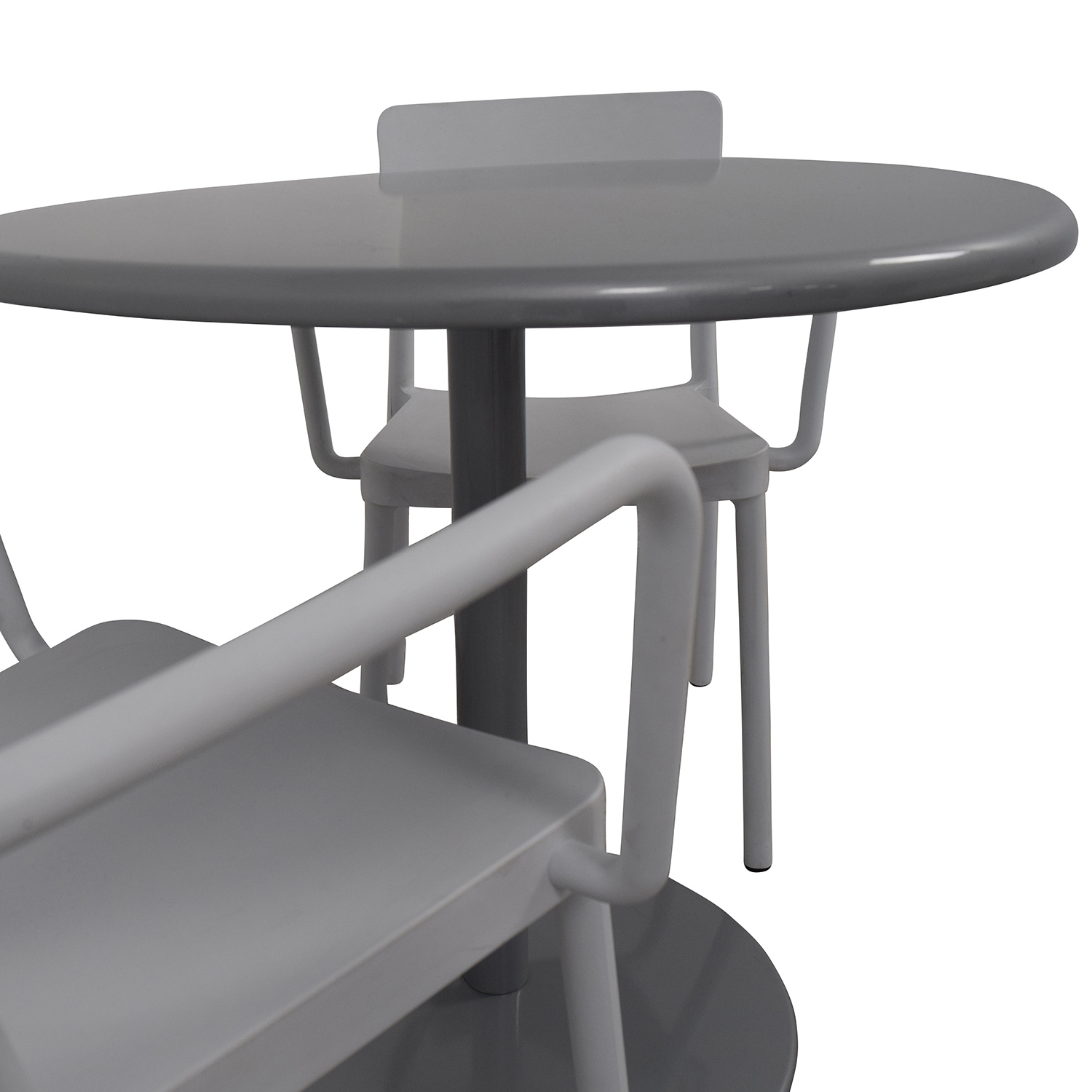 buy Design Within Reach Design Within Reach Bistro Table and Two Chairs online