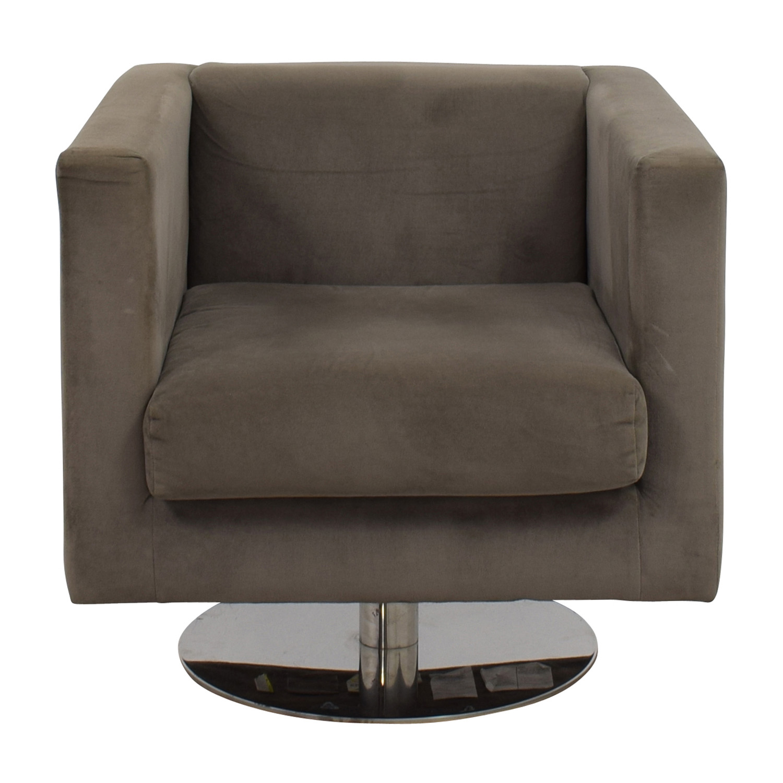Rowe Rowe Grey Swivel Chair nj