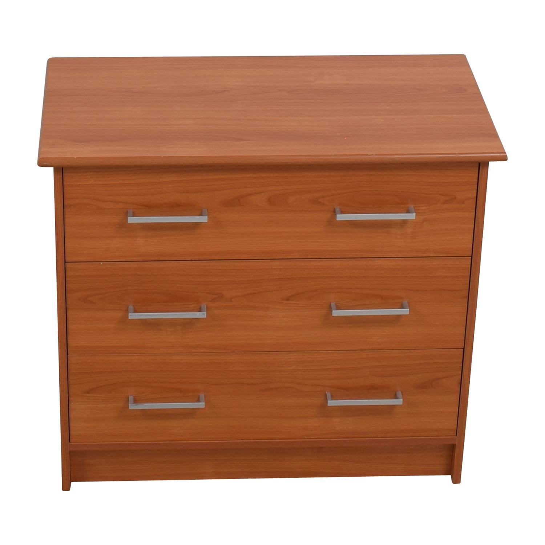 Small Three-Drawer Dresser Dressers
