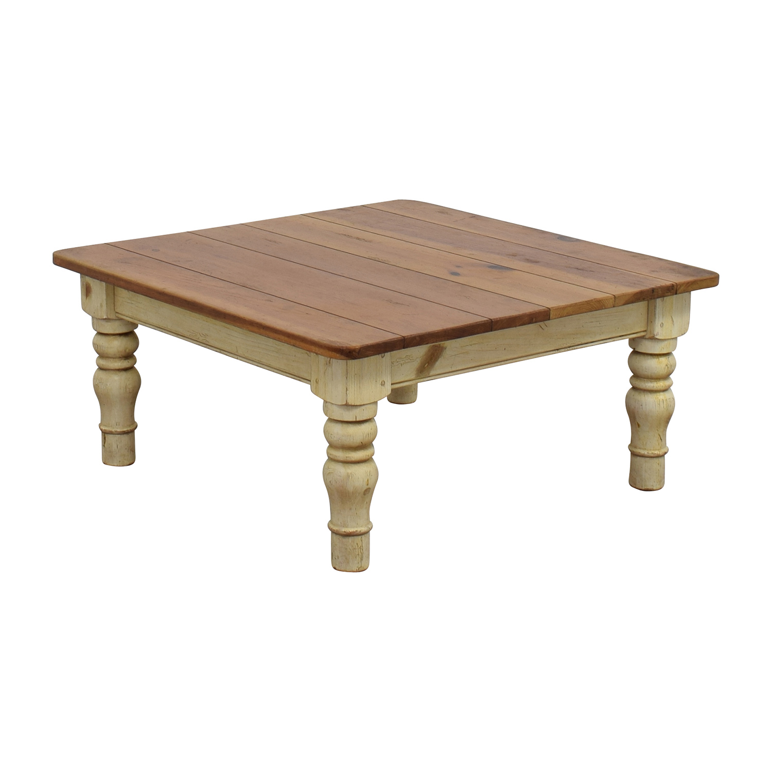 Ethan Allen Tuscan Coffee Table: Ethan Allen Ethan Allen Farmhouse Cherry Wood