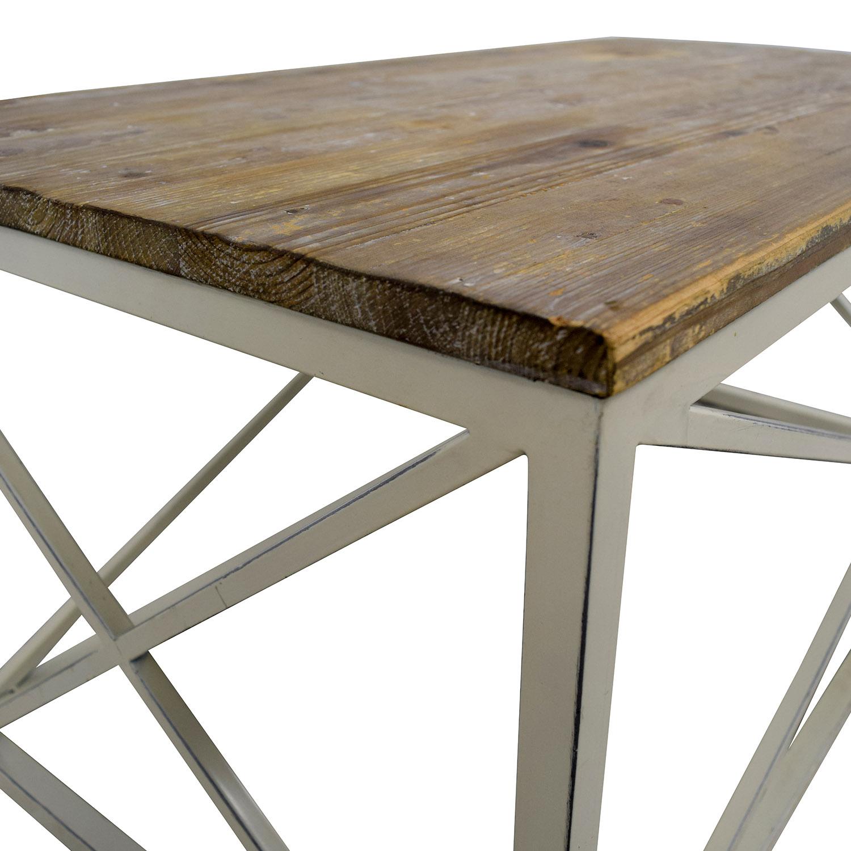 Wayfair Wayfair Wooden and Metal Coffee table dimensions