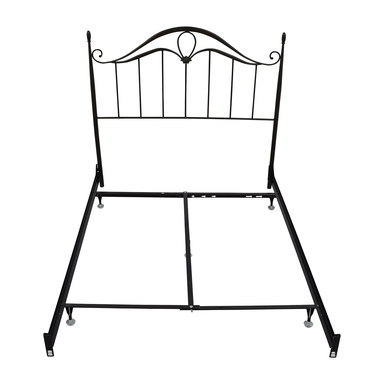 buy Bobs Furniture Bronze Metal Queen Bed Bobs Furniture Bed Frames
