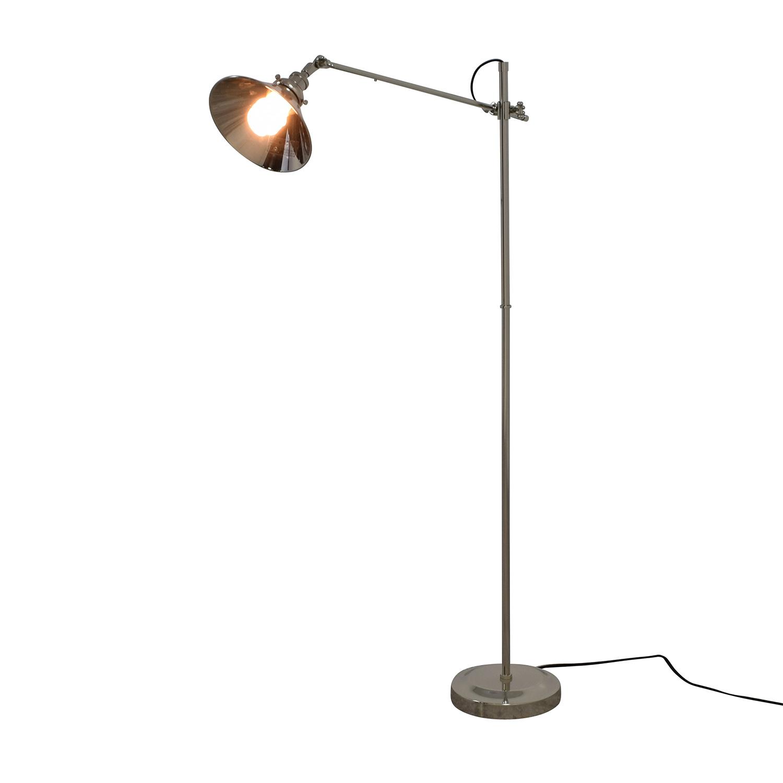 restoration hardware restoration hardware chrome floor lamp