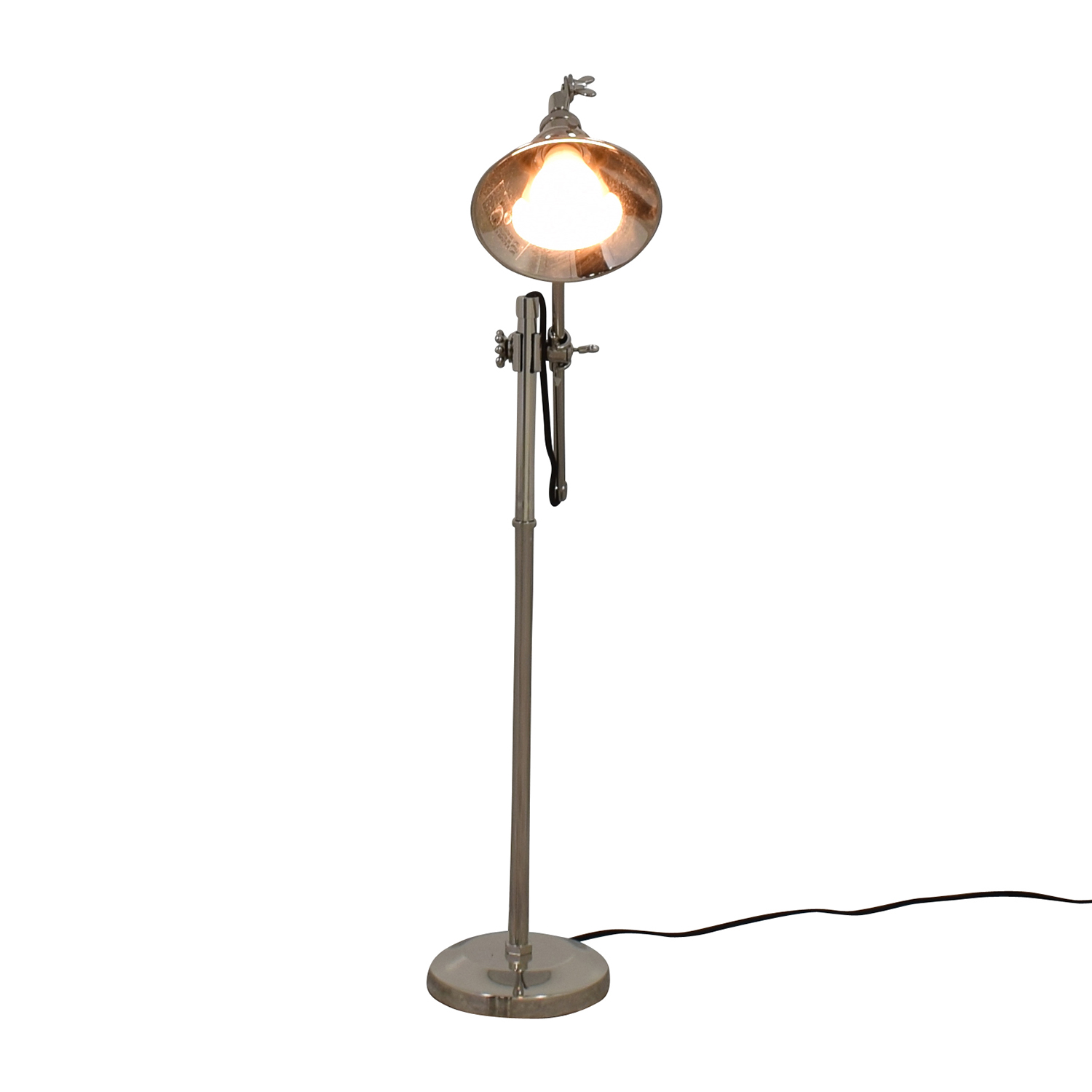 Restoration Hardware Restoration Hardware Chrome Desk lamp on sale