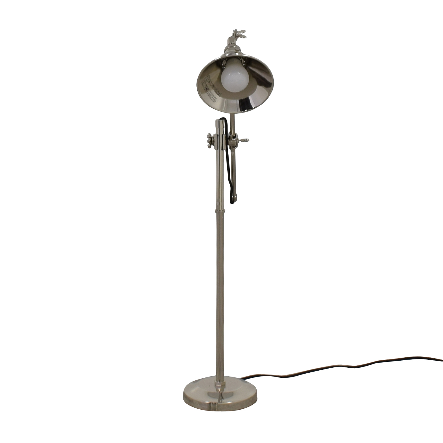 Restoration Hardware Chrome Desk lamp sale