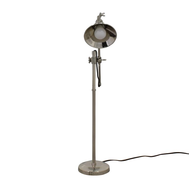 shop Restoration Hardware Chrome Desk lamp Restoration Hardware