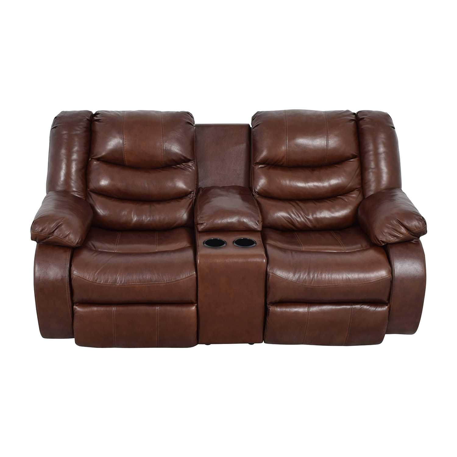90 off ashley furniture ashley furniture brown leather reclining