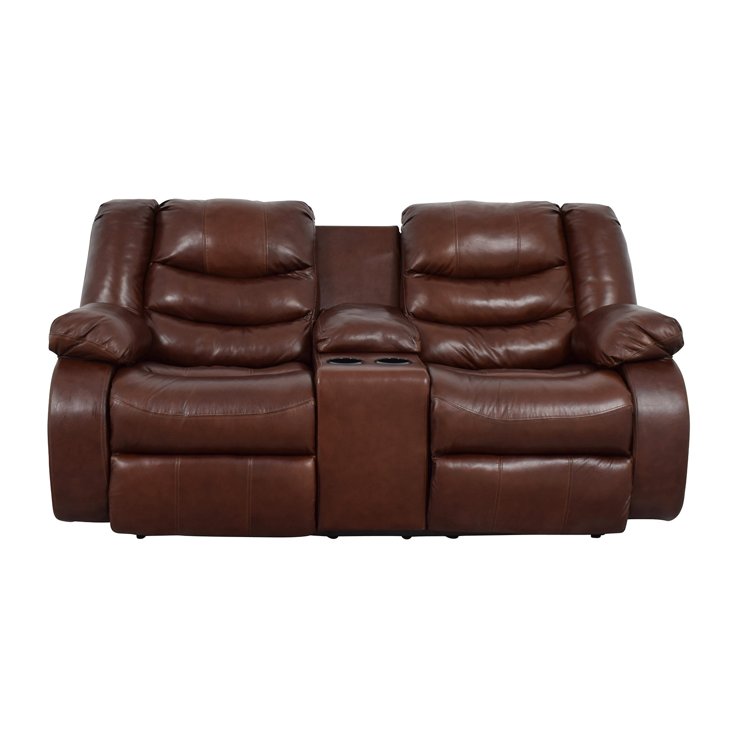 90 Off Ashley Furniture Ashley Furniture Brown Leather