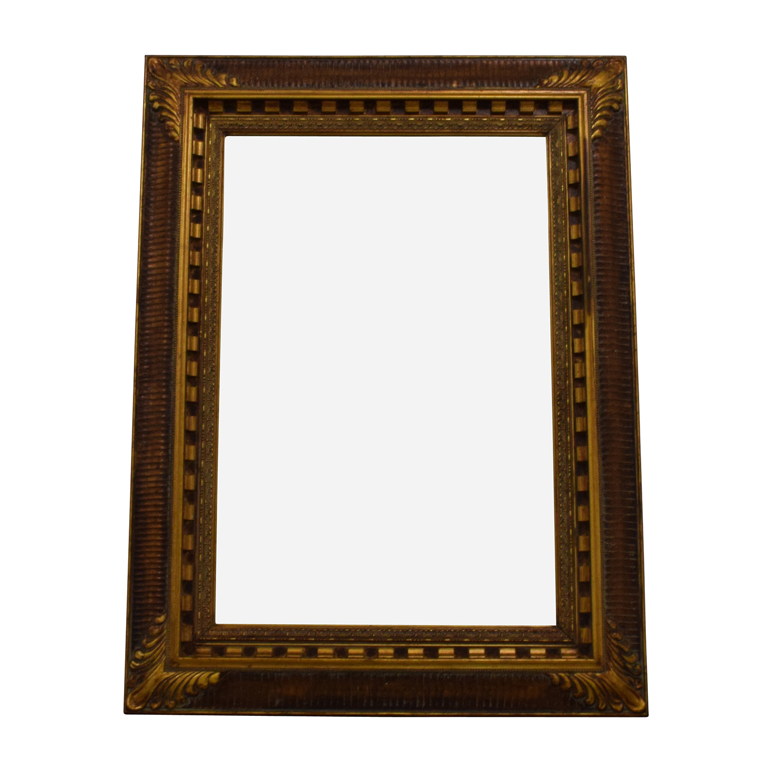 Antique Gold Framed Mirror coupon