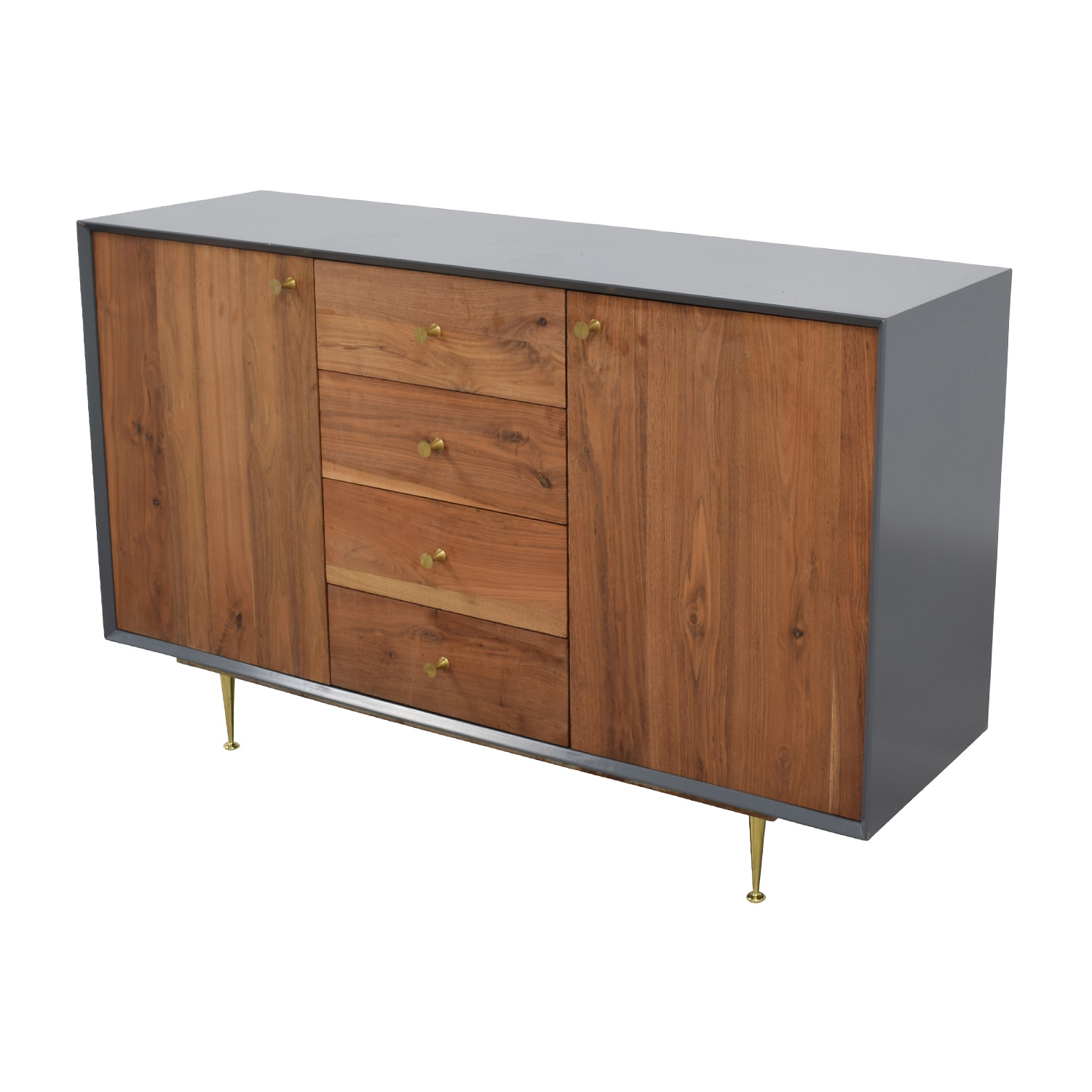 buy Organic Modernism Cincinatti Credenza Cabinet Organic Modernism Media Units