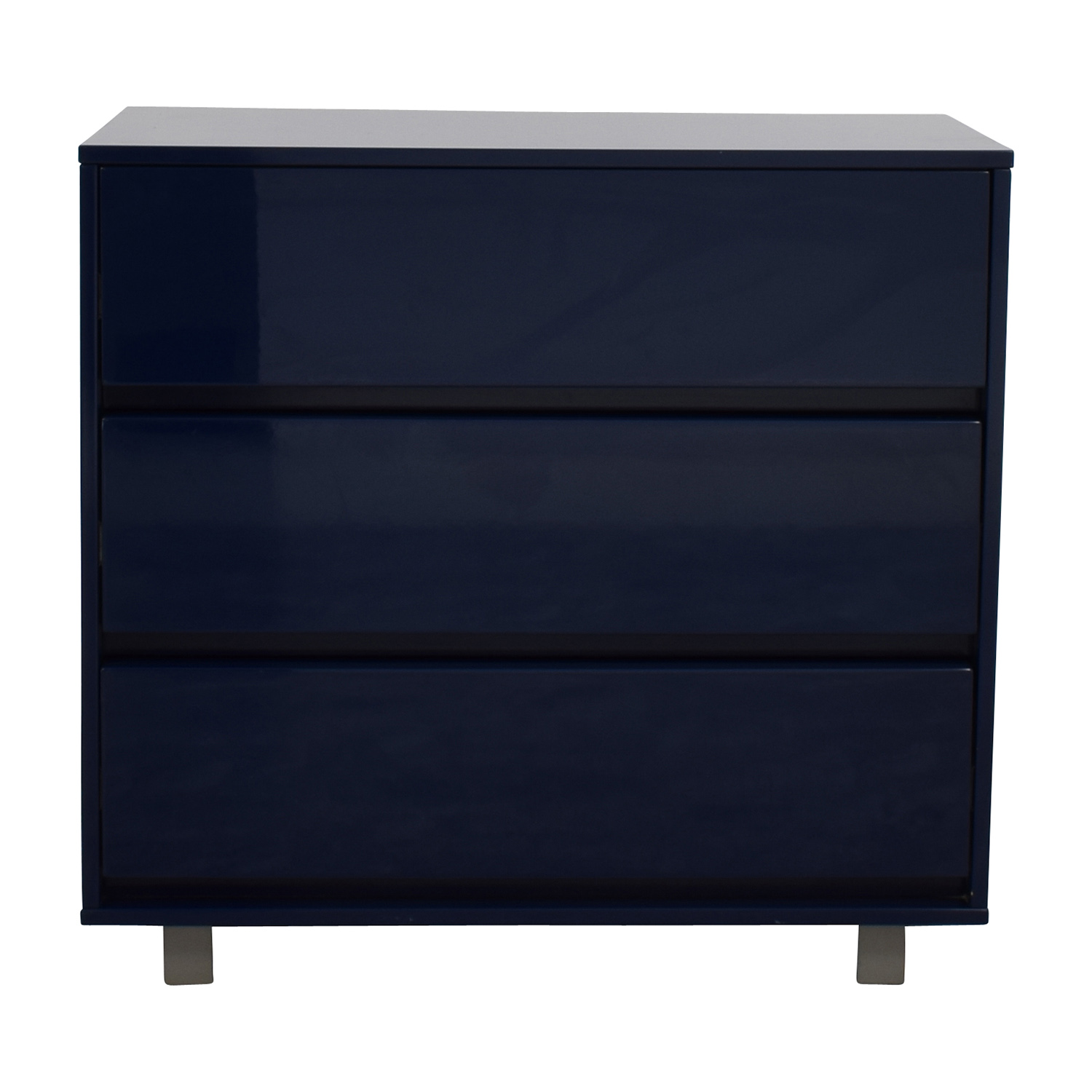 CB2 CB2 Shop Blue Chest for sale