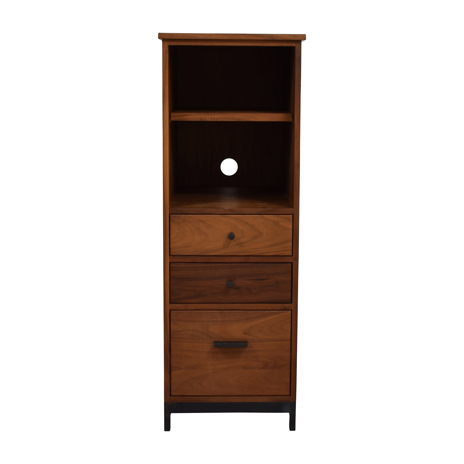 buy Crate and Barrel Tall Dresser or Shelf Crate and Barrel Storage