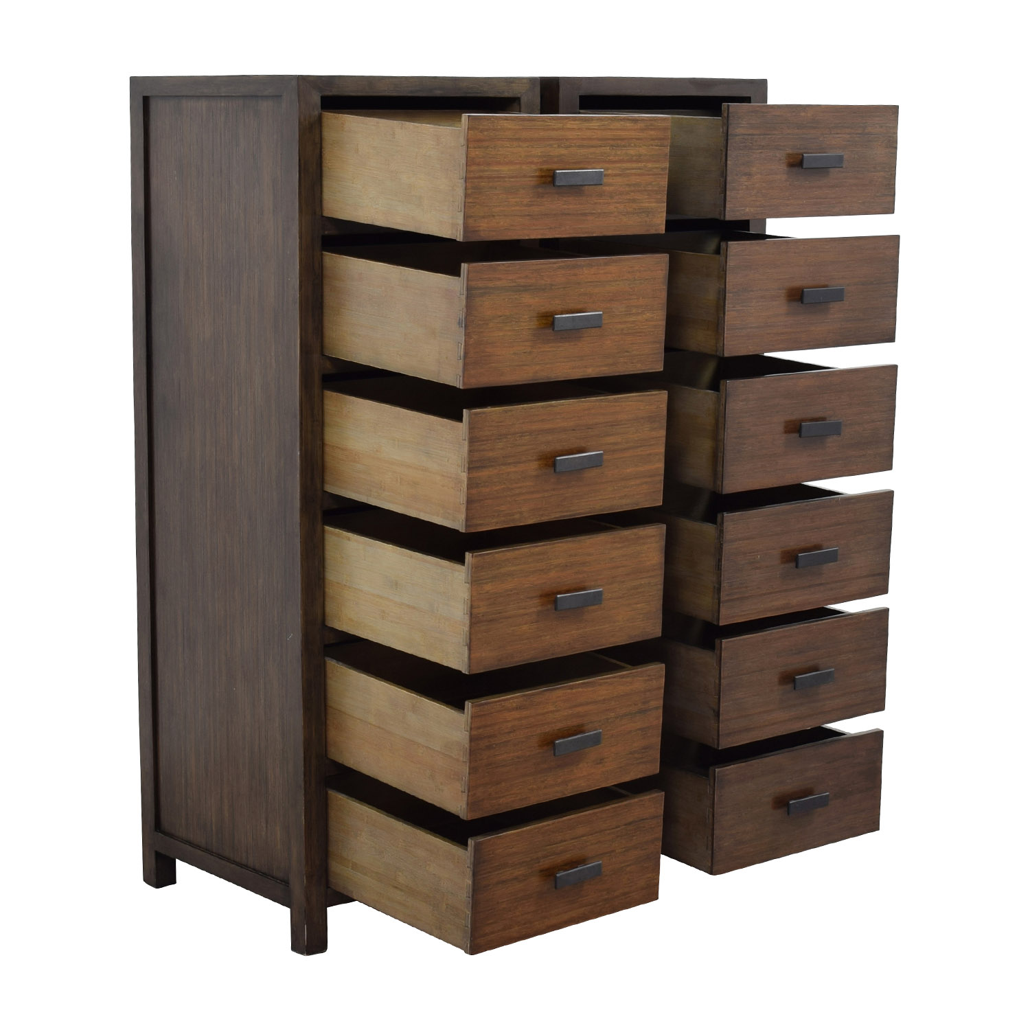 buy Crate and Barrel Crate & Barrel Del Re Slim Six Drawer Dresser online
