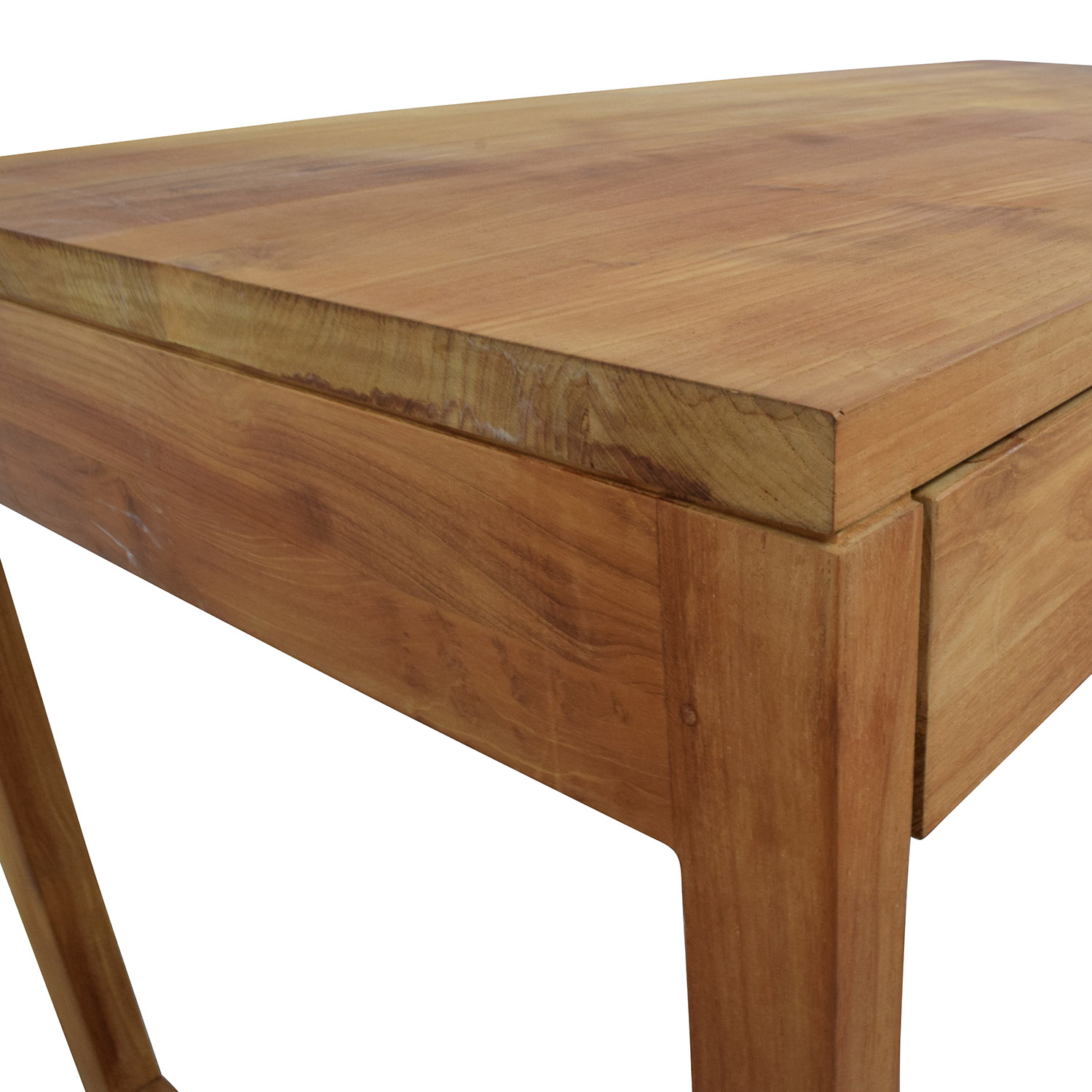 Room and Board Room & Board Two-Drawer Teak Desk Tables