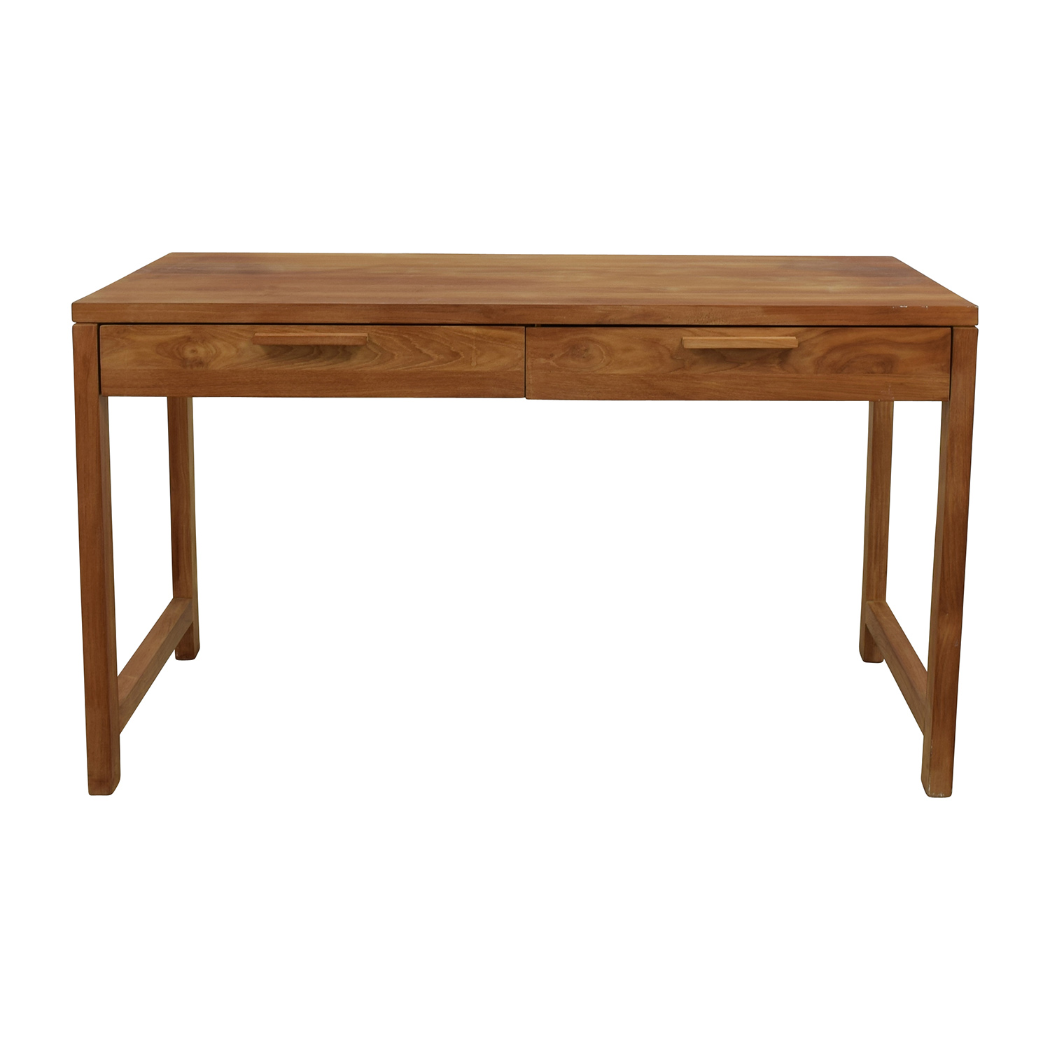 Room and Board Room & Board Two-Drawer Teak Desk discount