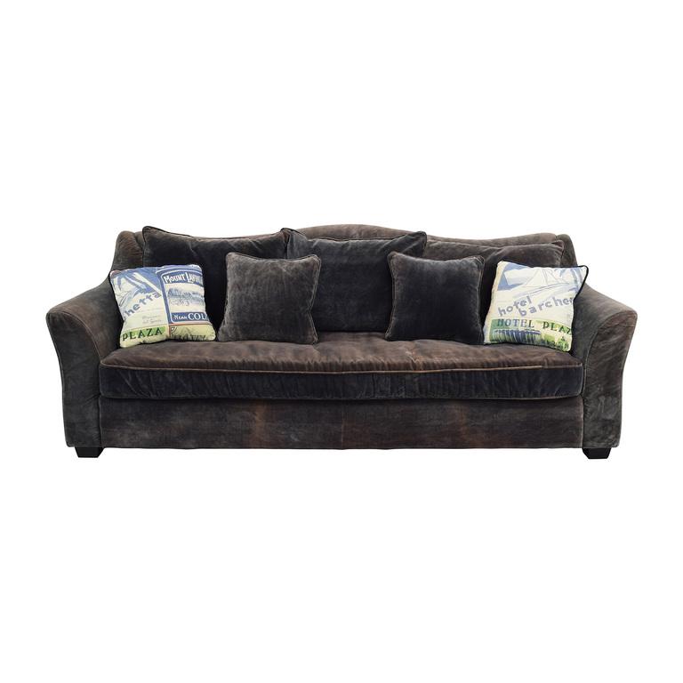 ABC Carpet and Home ABC Carpet & Home Timothy Oulton Grey Sofa nj
