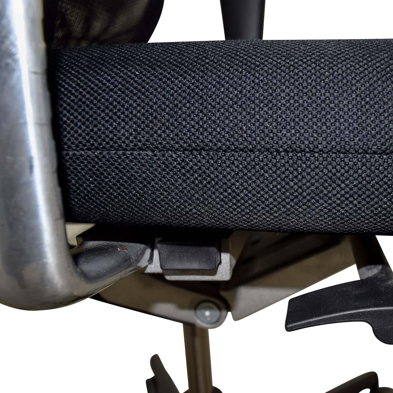 77% OFF Vitra Vitra Meda Black Chair Chairs