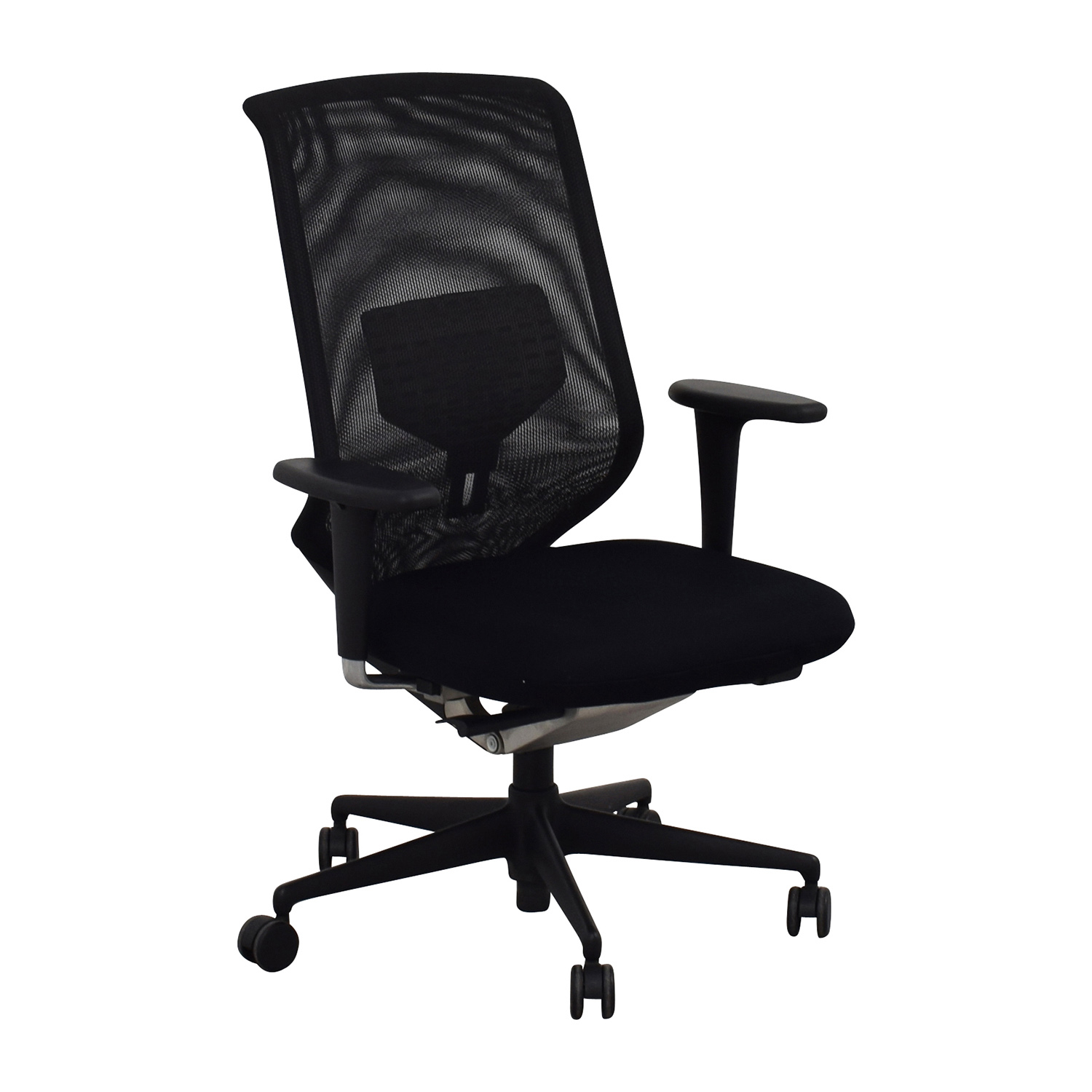 shop Vitra Meda Black Chair Vitra Home Office Chairs