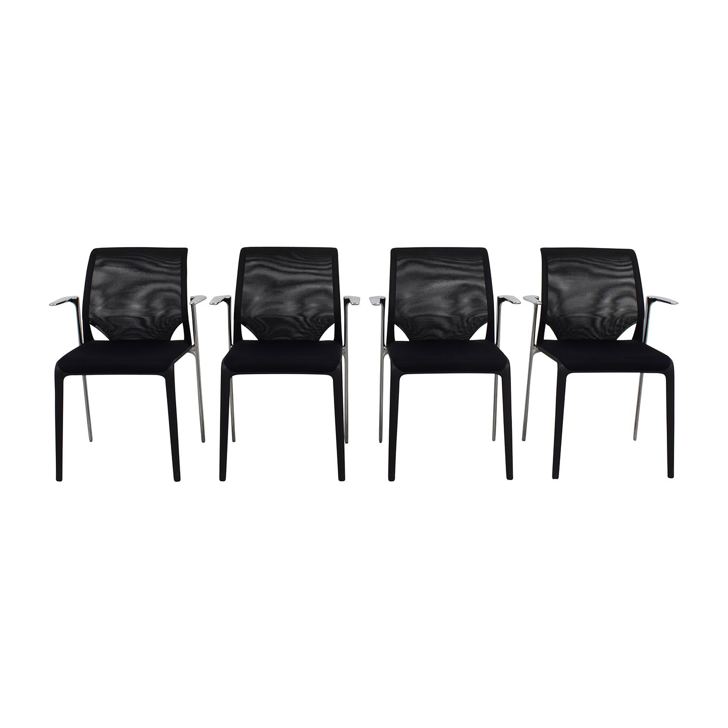 Vitra Vitra MedaSlim Armchairs for sale