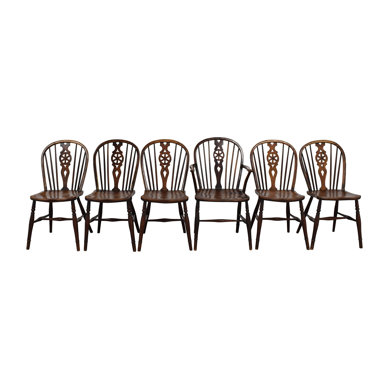 shop Tim Wharton Antiques Georgian Windsor Chairs Tim Wharton Antiques Dining Chairs