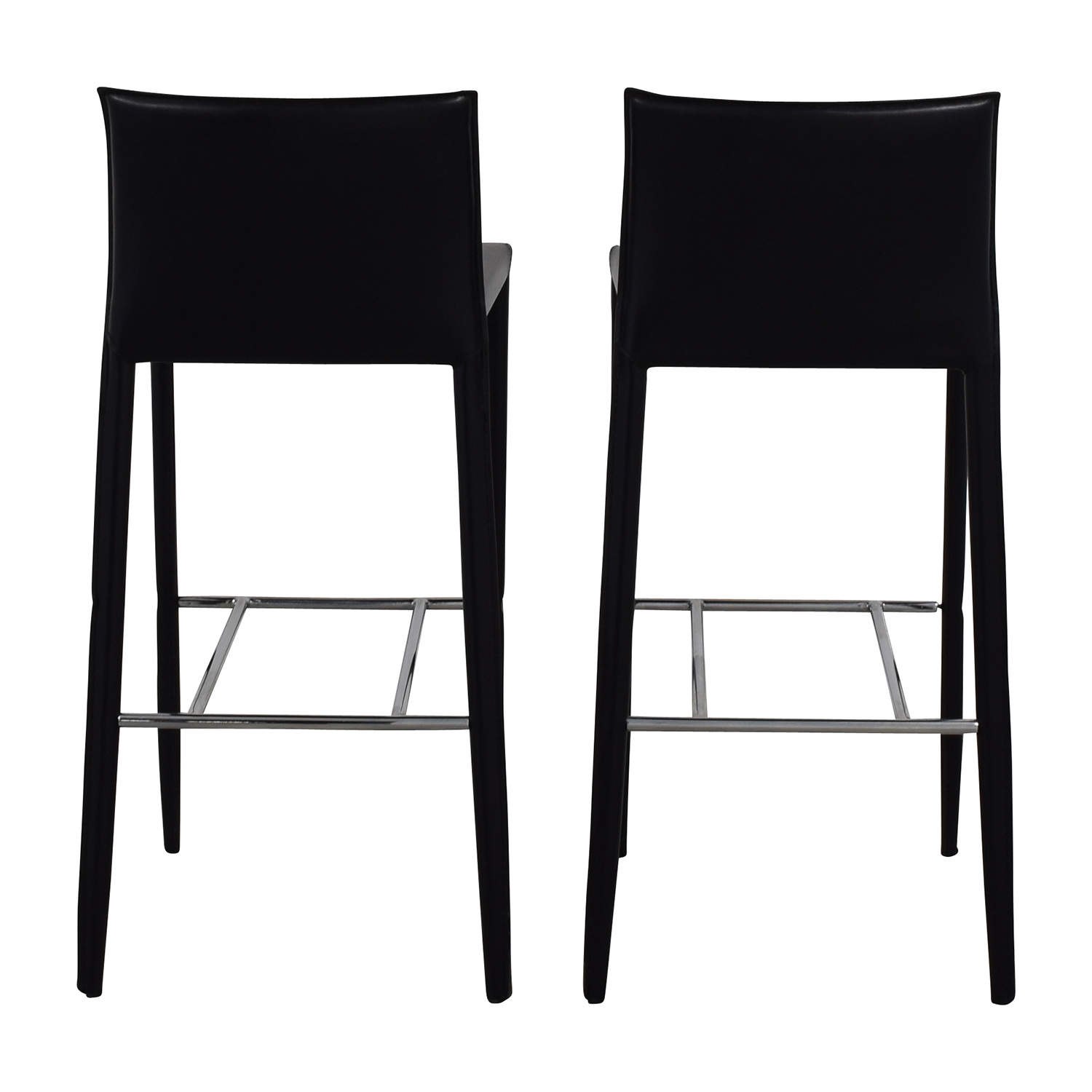 Black Leather Bar Stools coupon