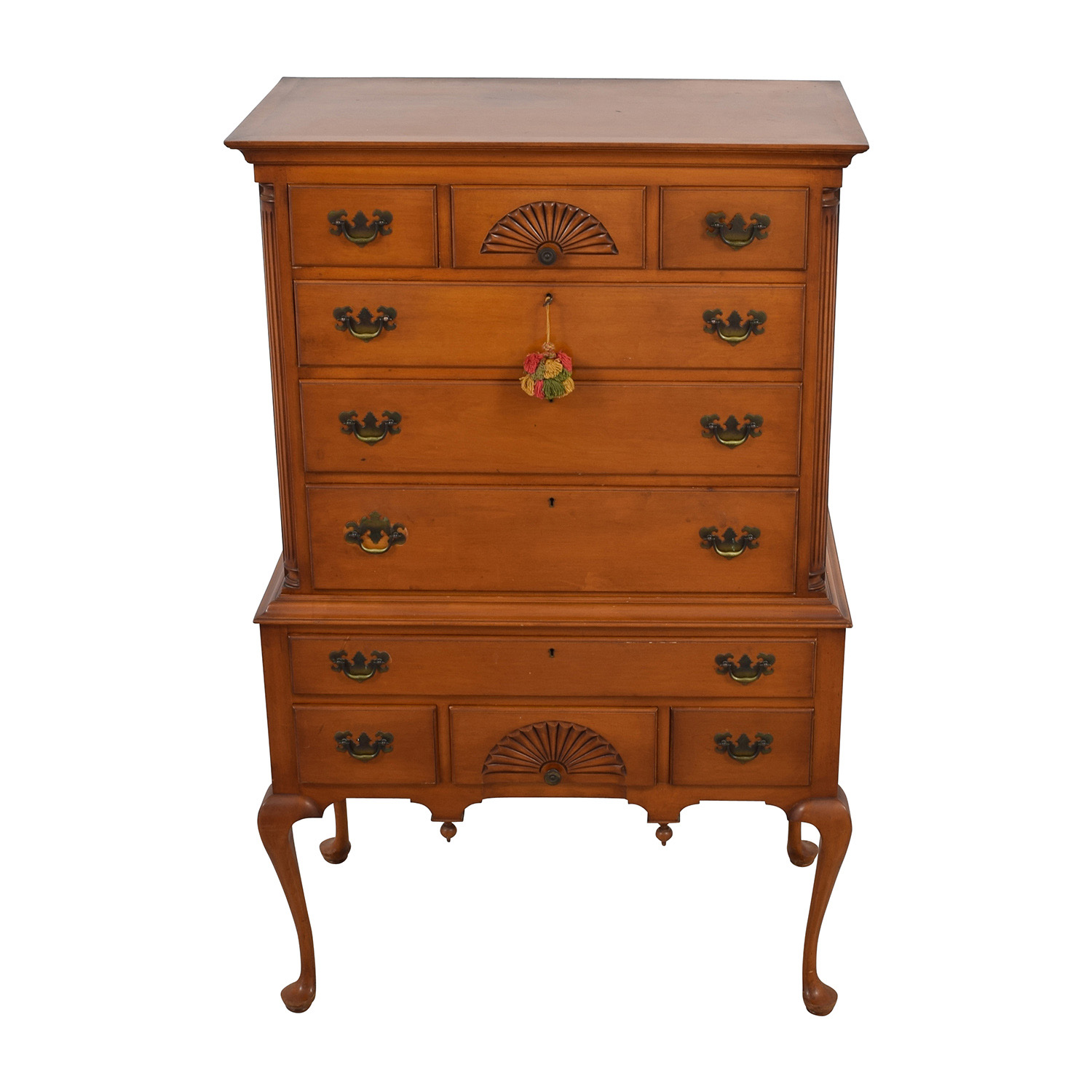 buy Maple American Flattop High Chest online